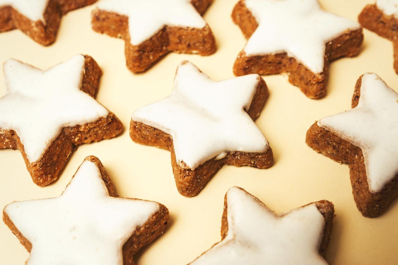 cinnamon biscuit stars christmas