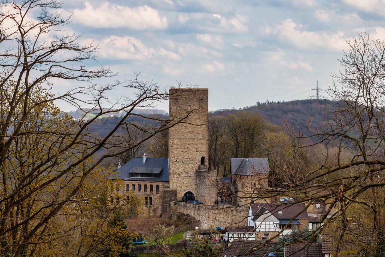 Castle Blankenstein in Hattingen by Germany