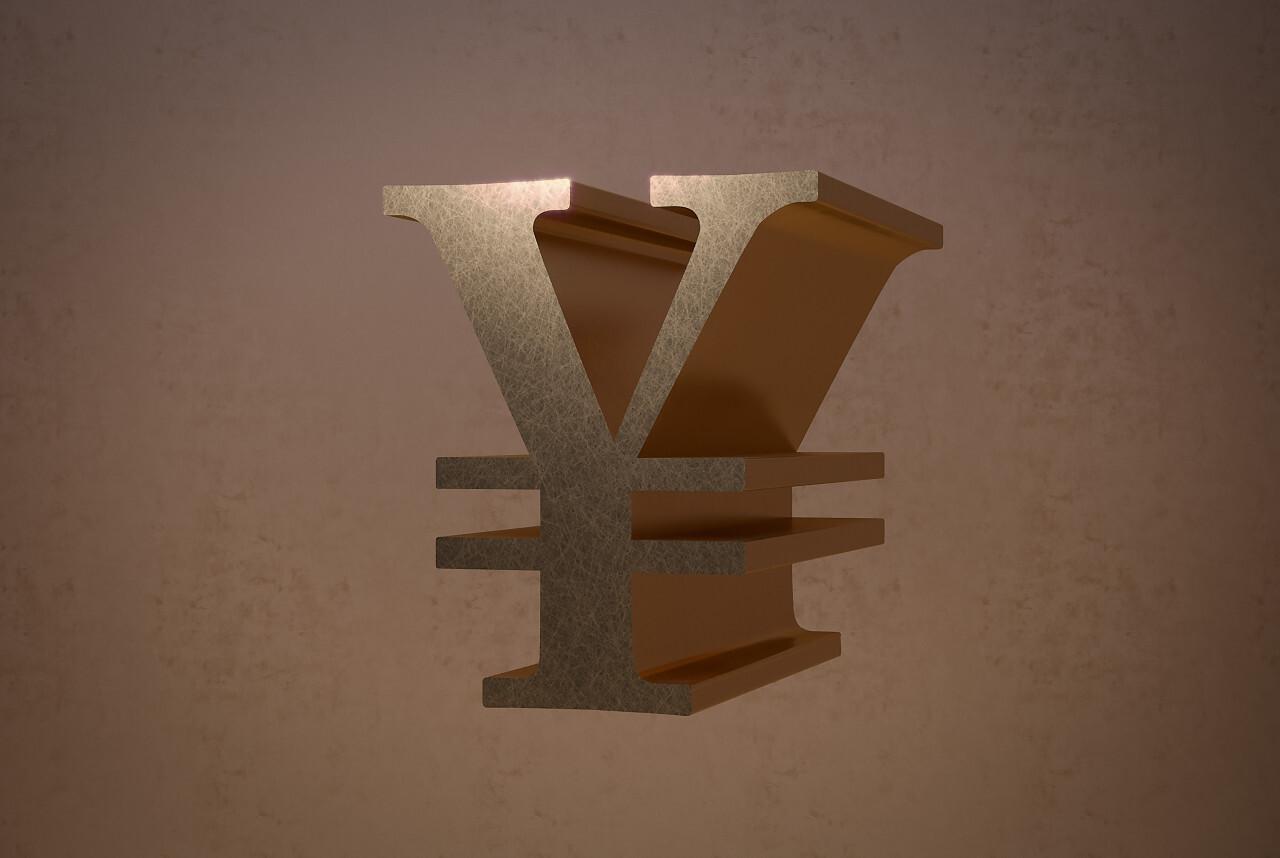 japanese yen golden
