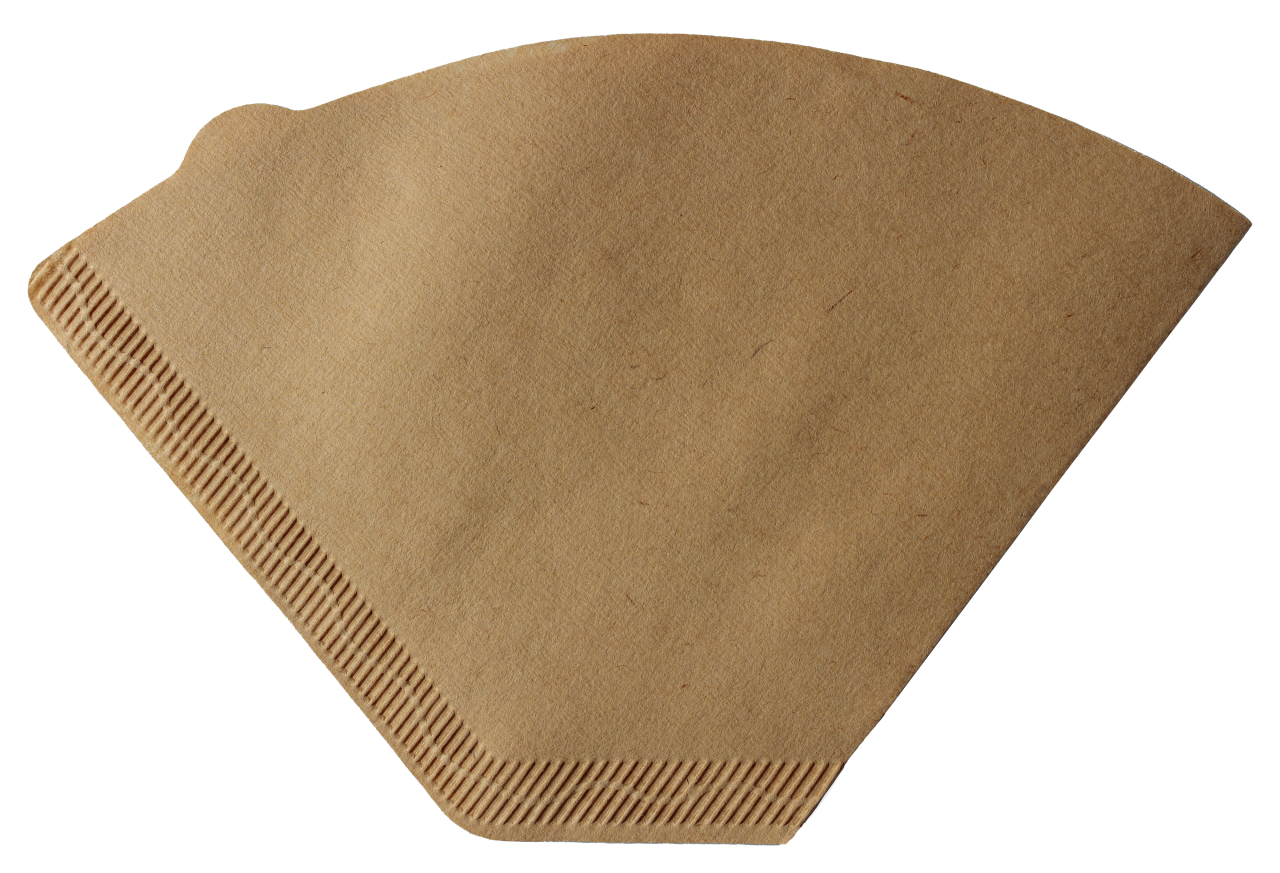 Coffee filter transparent background PNG