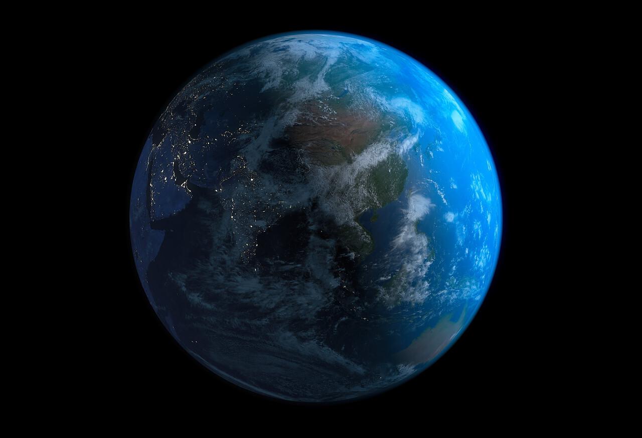 8k earth