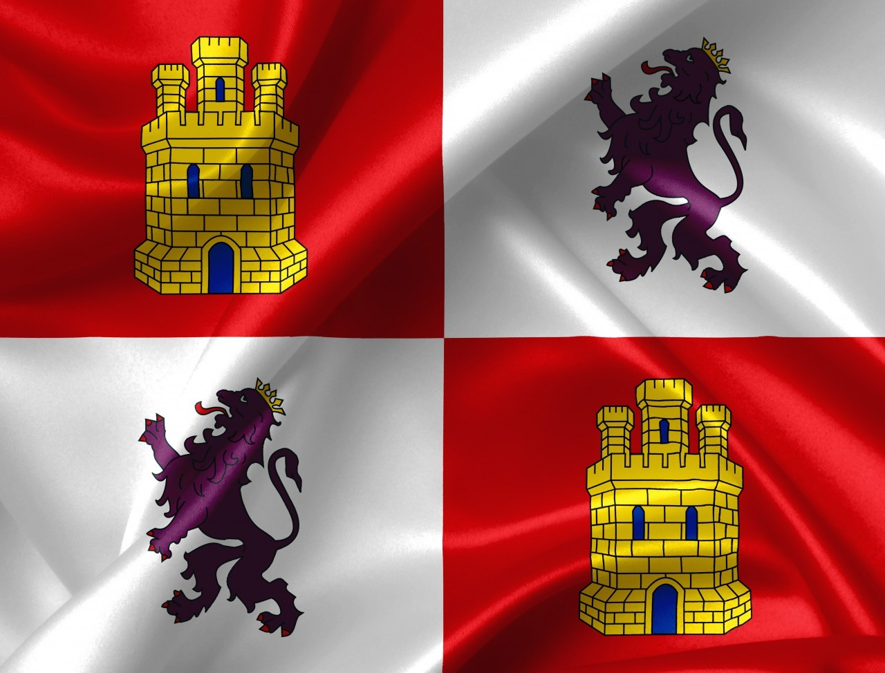 castile and leon flag