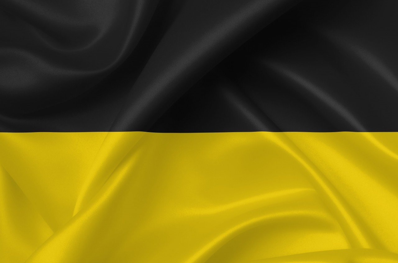 flag of the habsburg monarchy country symbol illustration