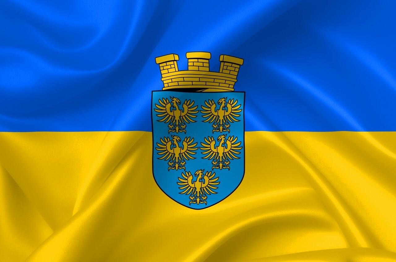 flag of lower austria country symbol illustration