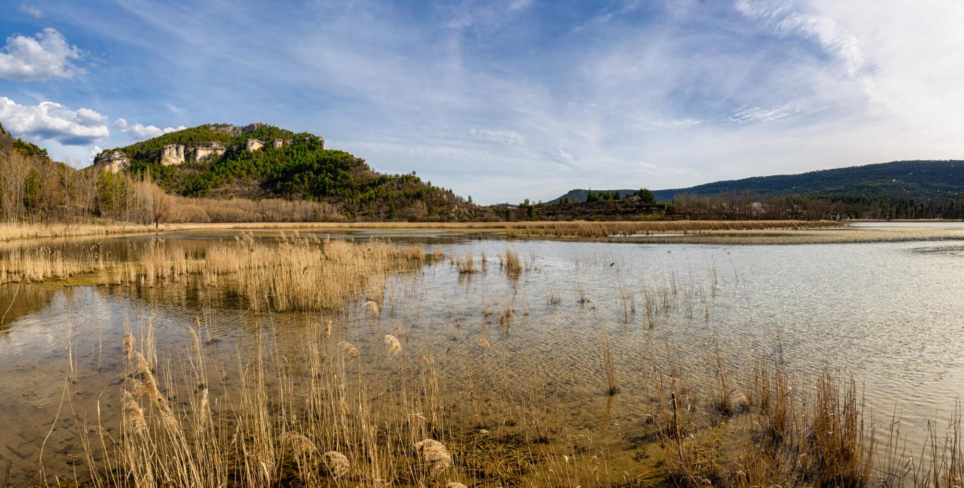 Laguna de Una a lake in spain