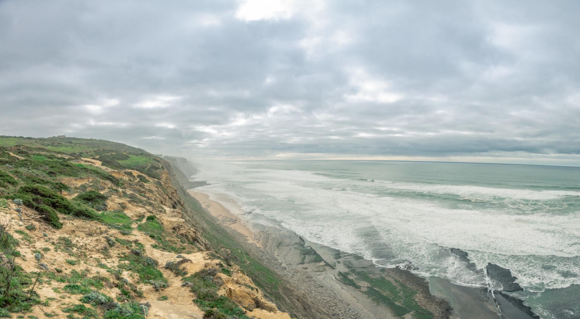 Magoitos beach Seascape Panorama