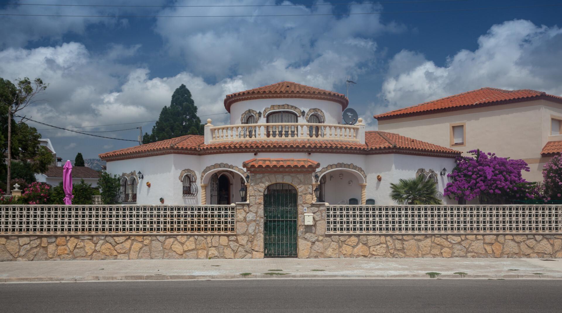 small mediterranean villa