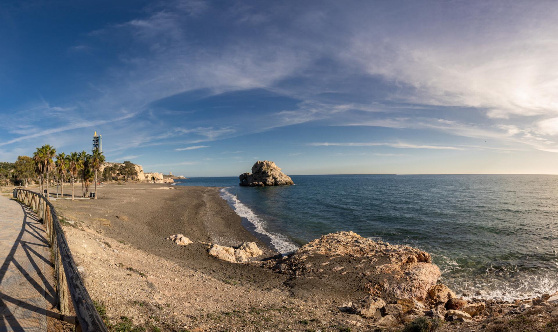 Playa Penon del Cuervo in Spain