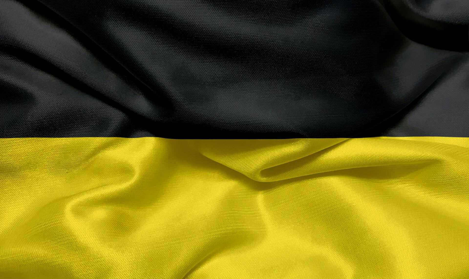 Waving flag of Gera