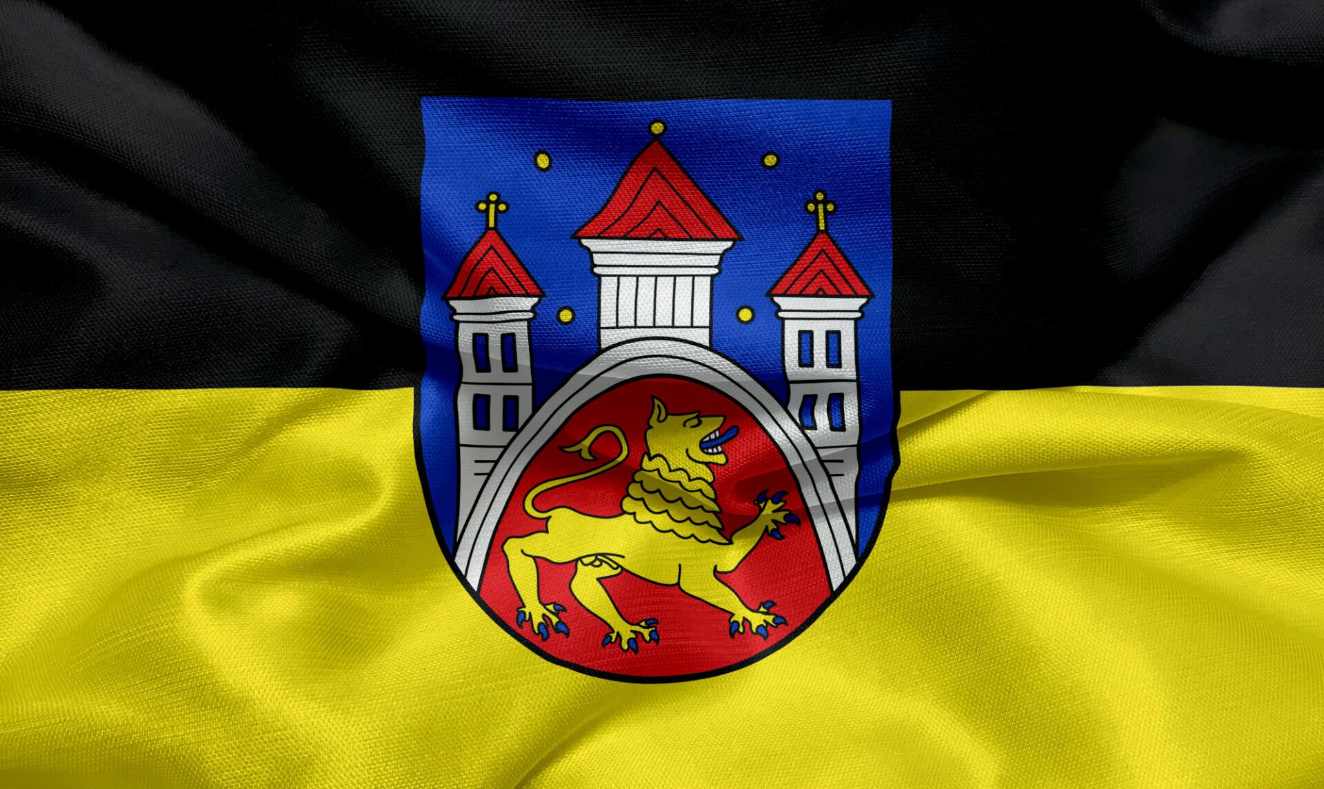 Flag of the city of Göttingen
