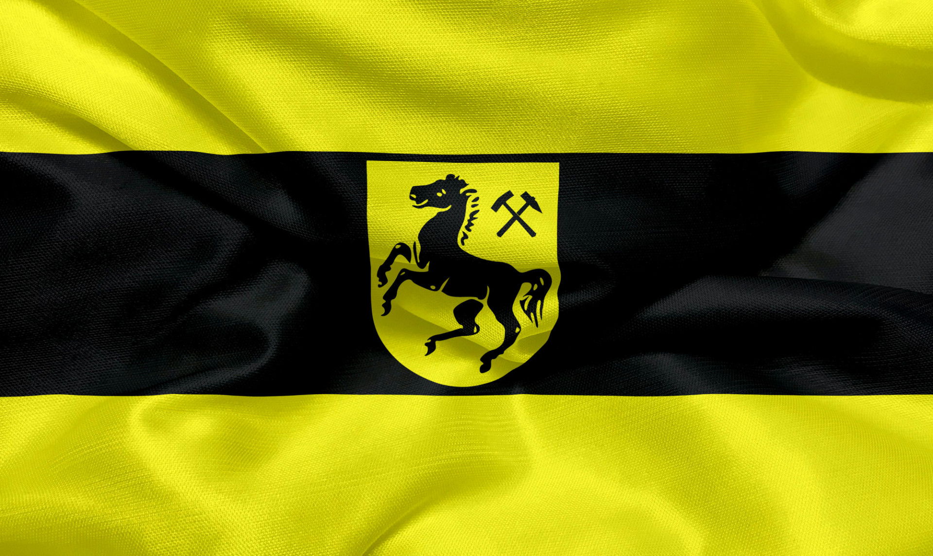 Flag of the city of Herne