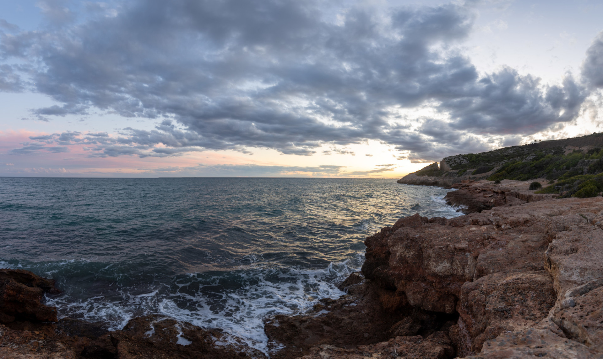 Passage de La Renega Seascape