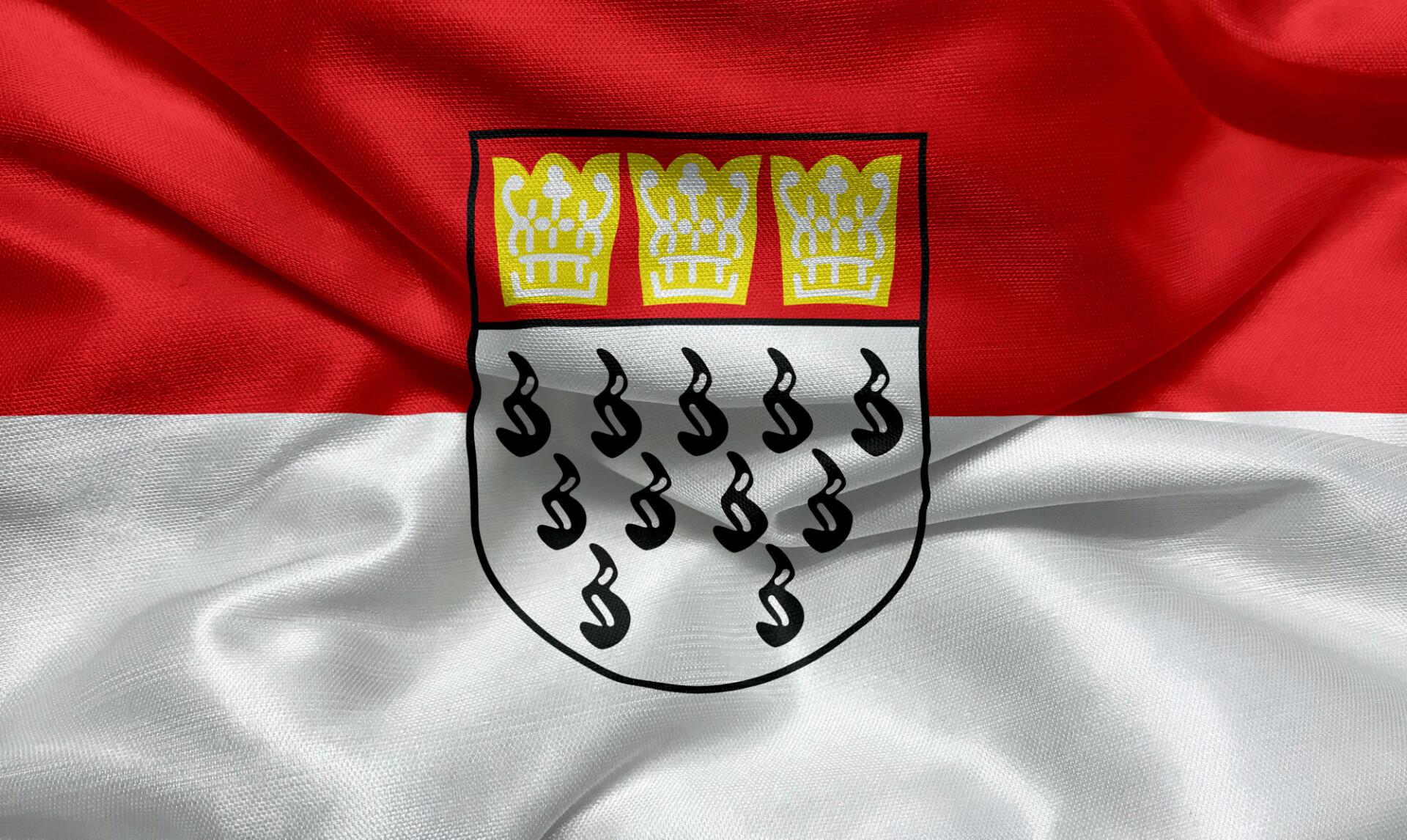 Flag of the city of Köln / Cologne