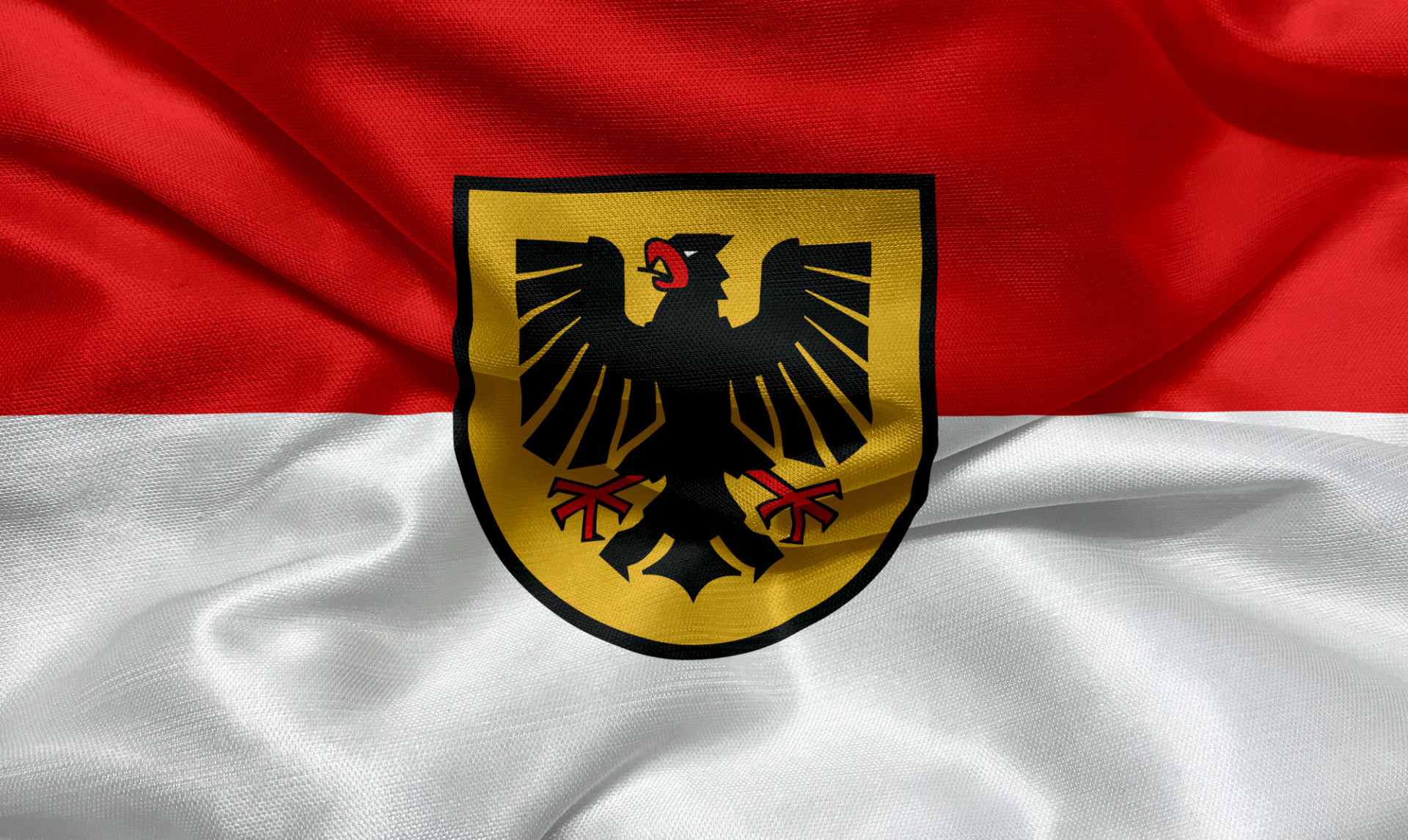 Flag of the city of Dortmund