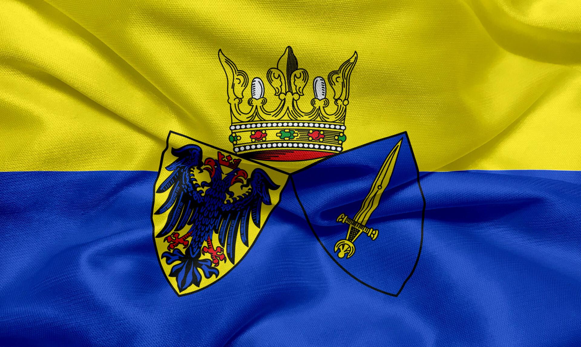 Flag of the city of Essen
