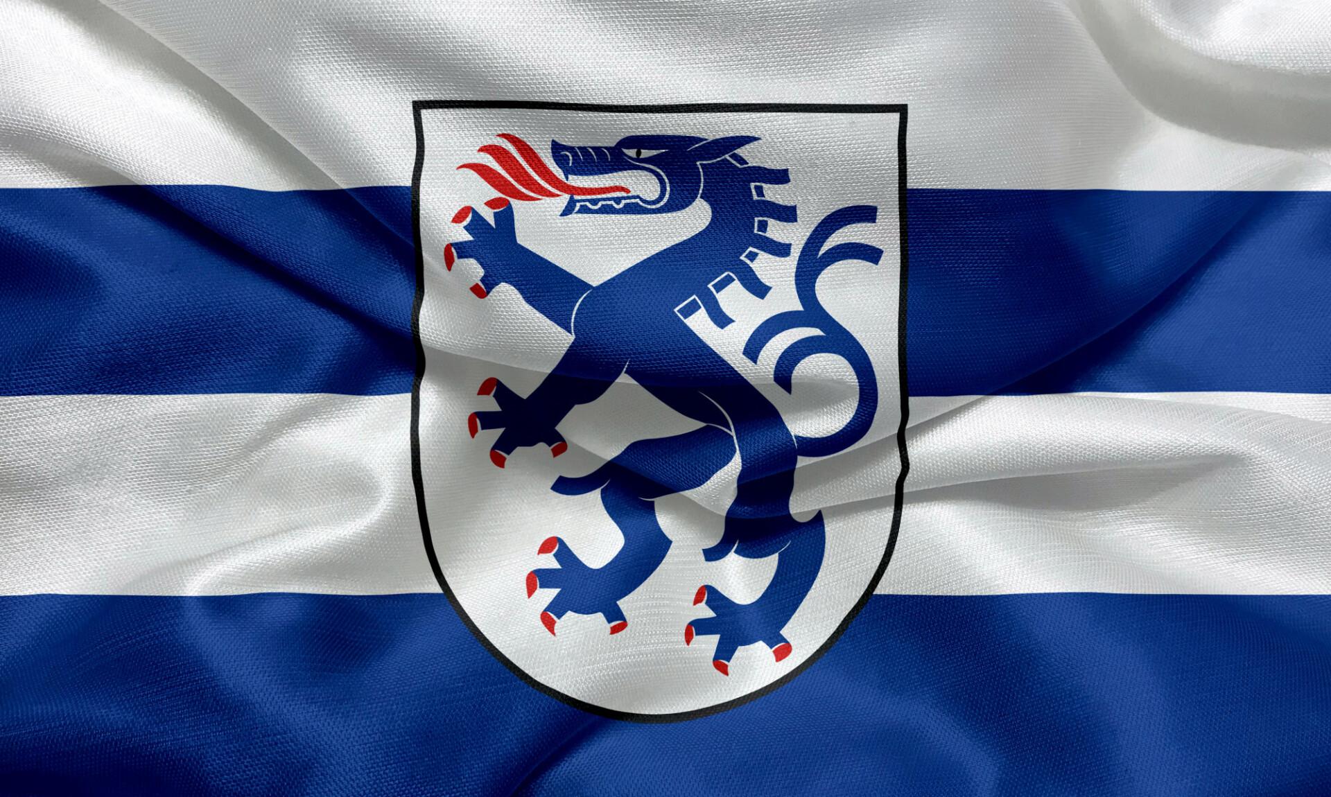 Flag of Ingolstadt, Bavaria
