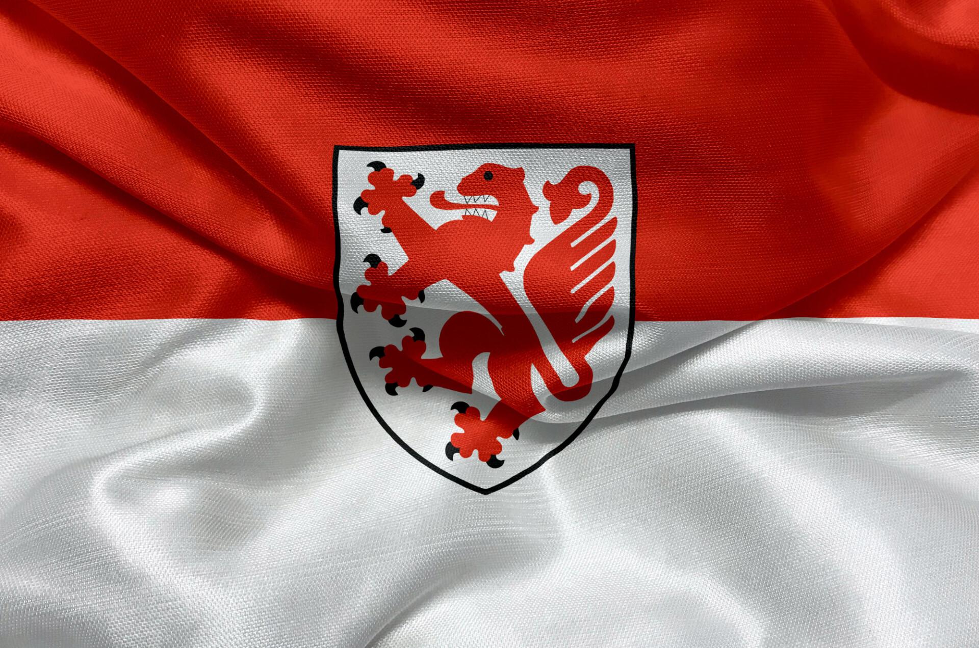 Flag of the city of Braunschweig