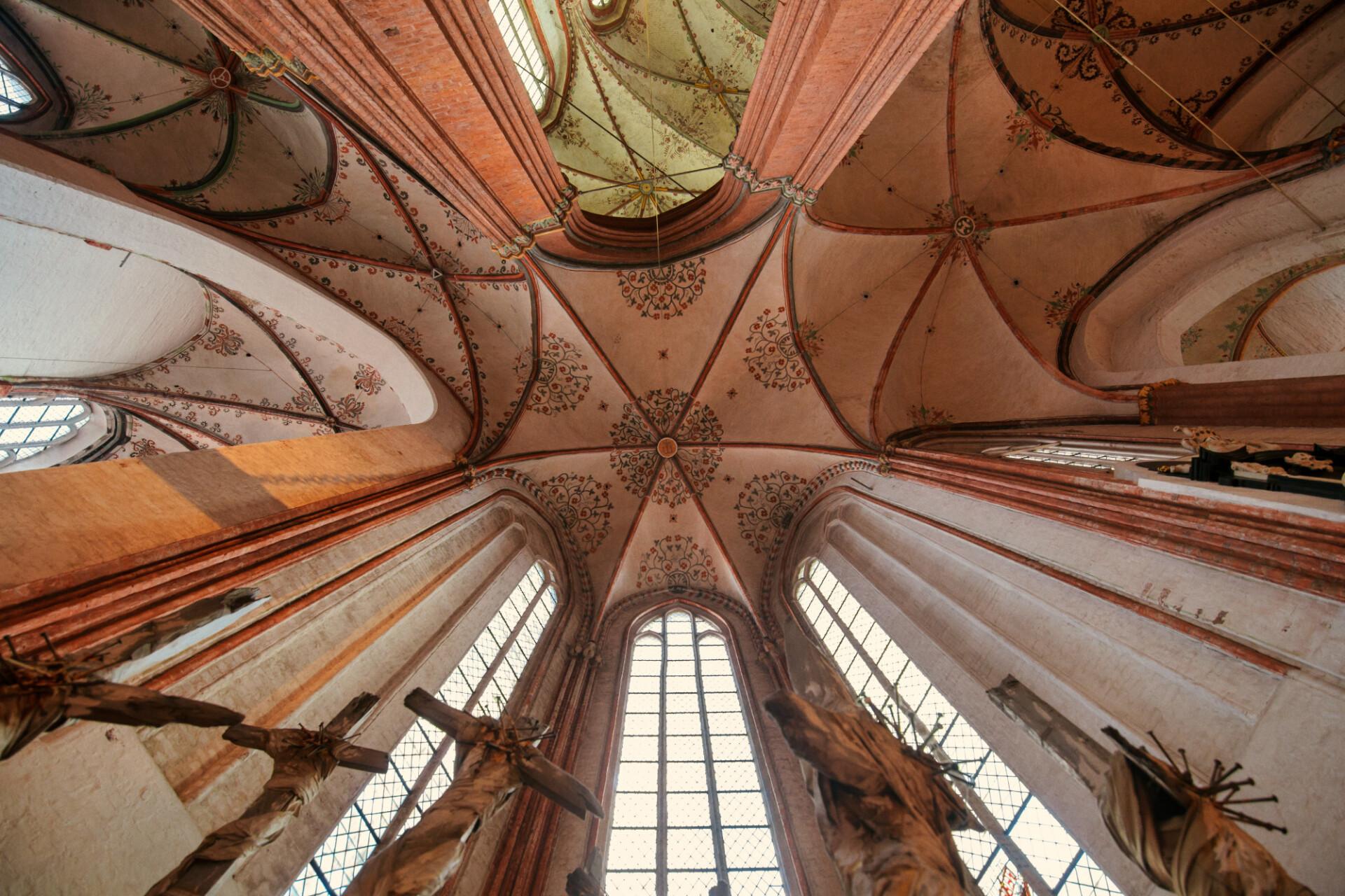 St. Mary's church in Lübeck