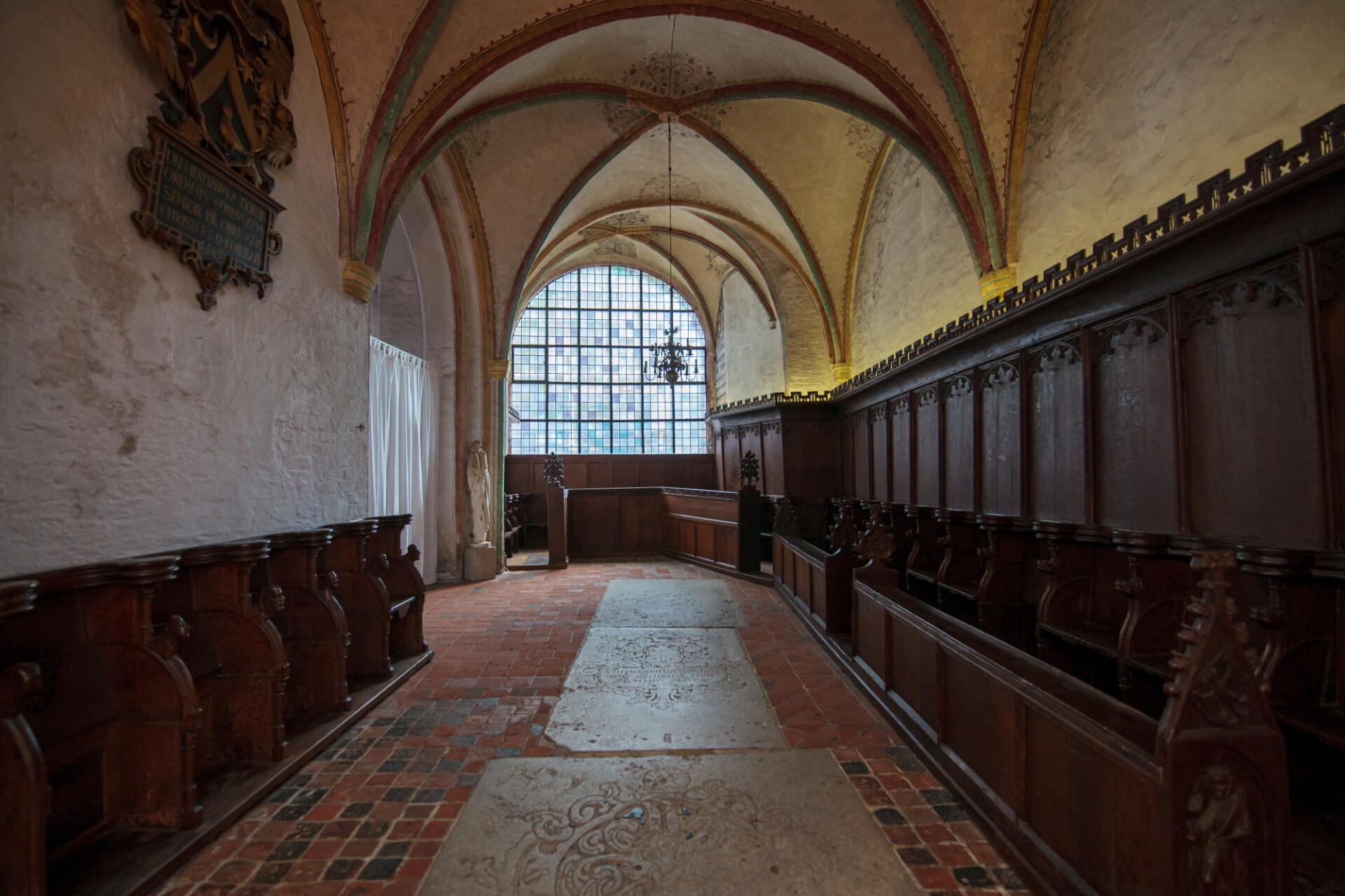 Marienkirche in Lübeck Interior