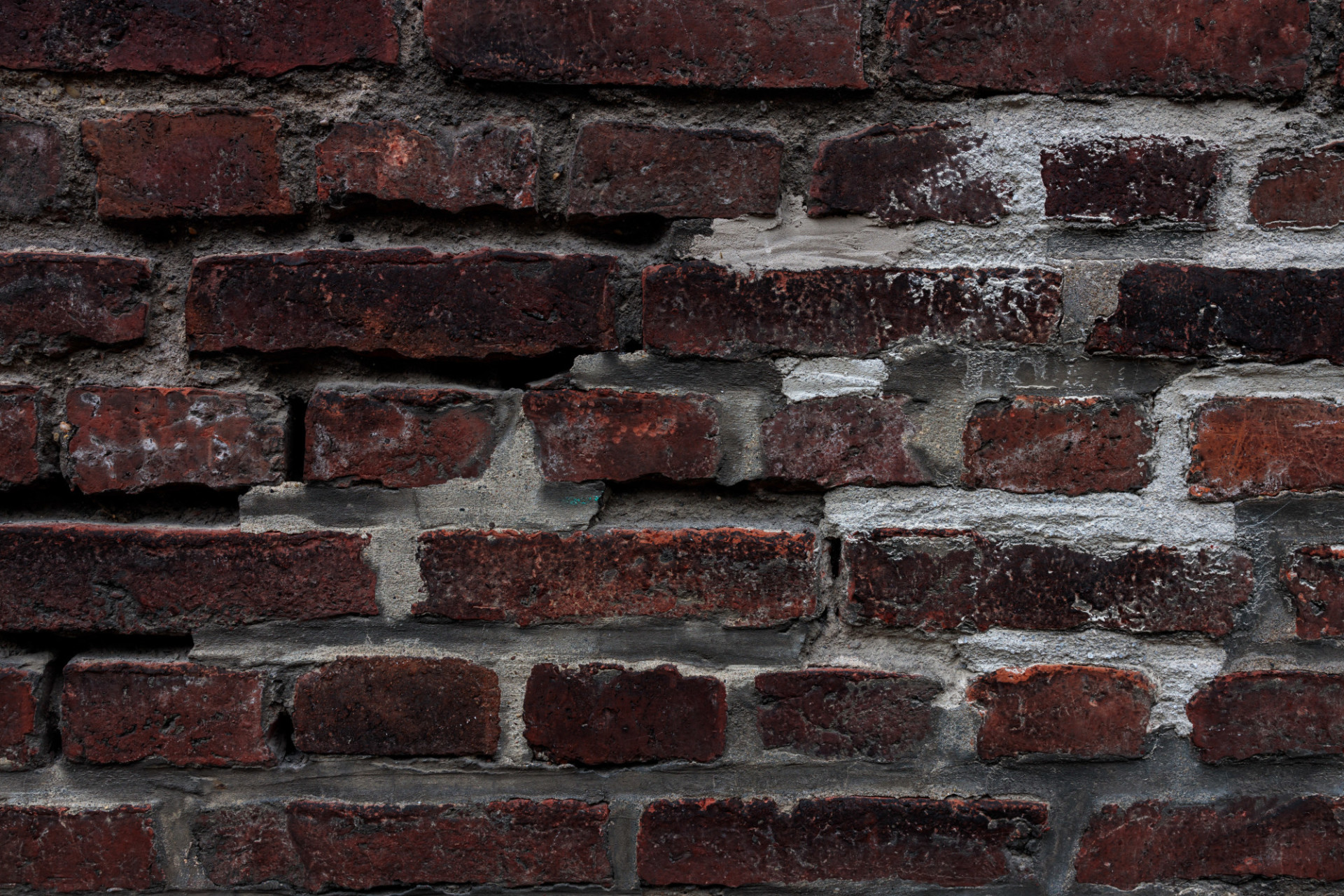 Old Destroyed Brick Wall Texture