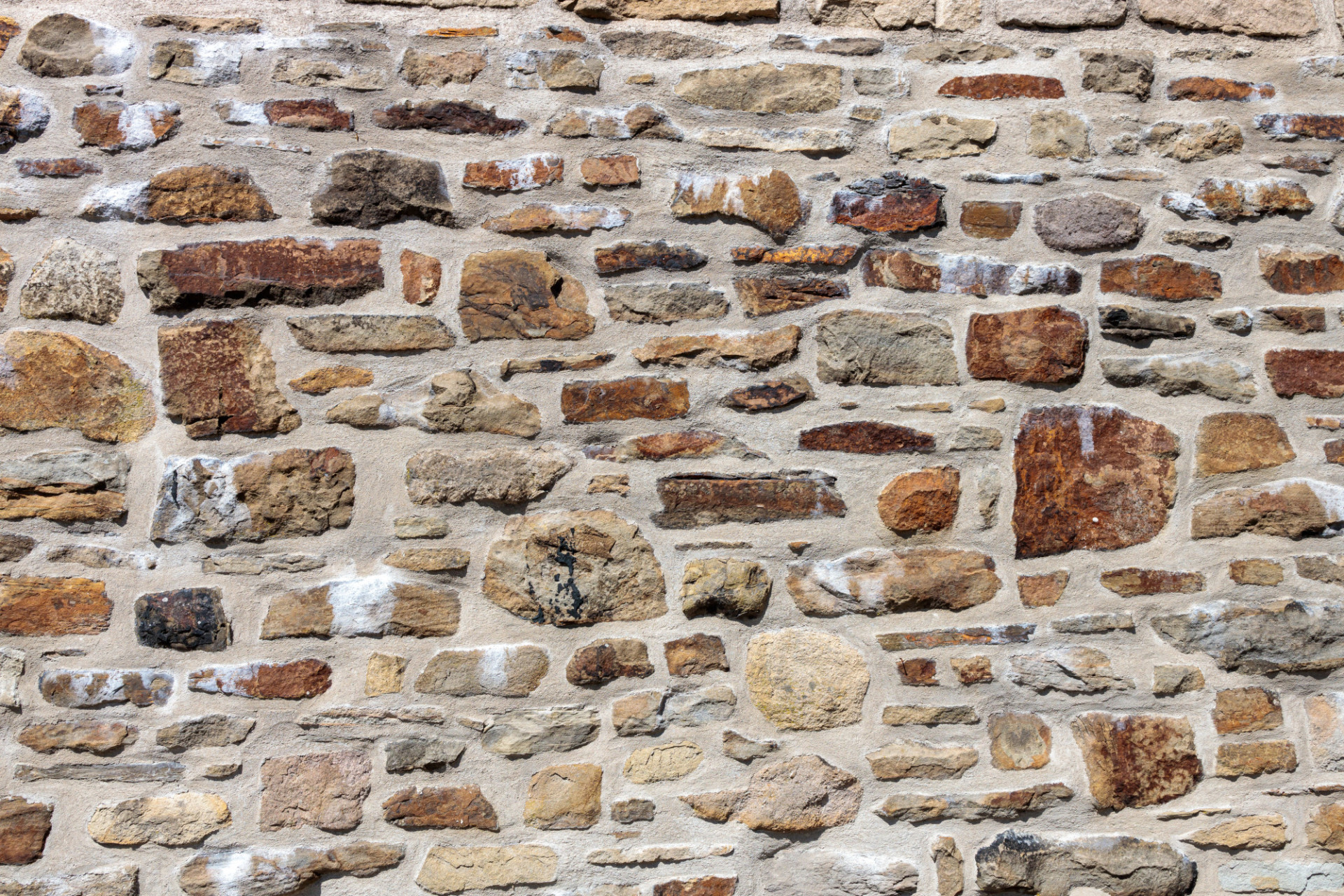 High Resolution Medieval Stonewall Texture