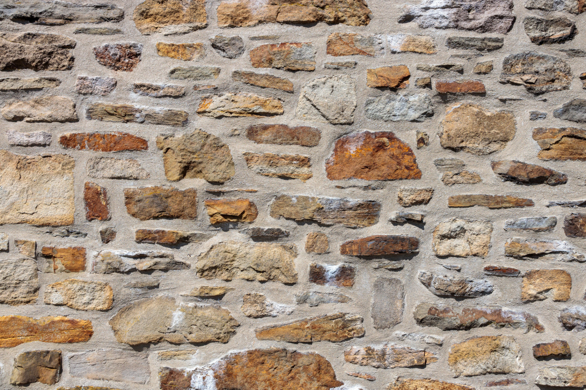 High Resolution Medieval Stonewall Background