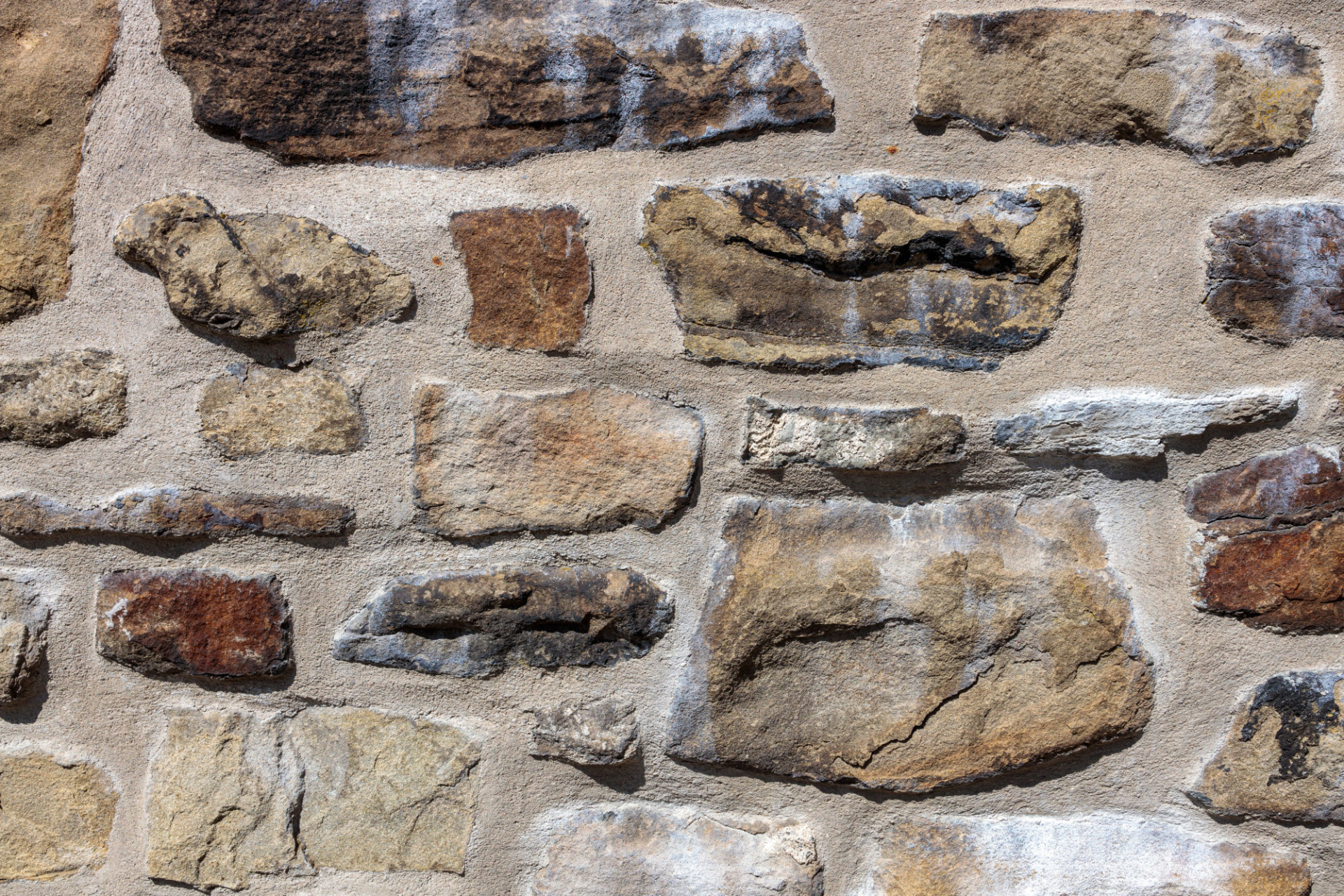 Medieval Stonewall Texture Close Up