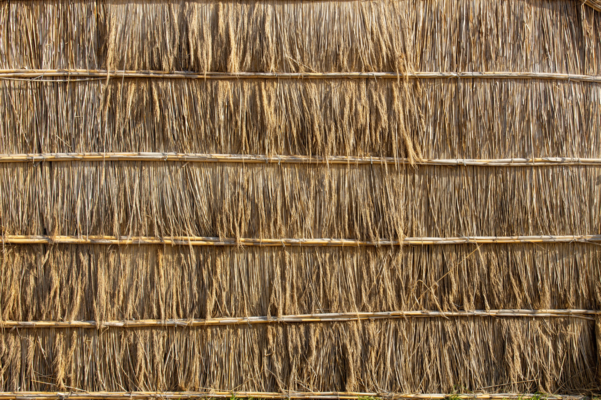 Straw wall texture