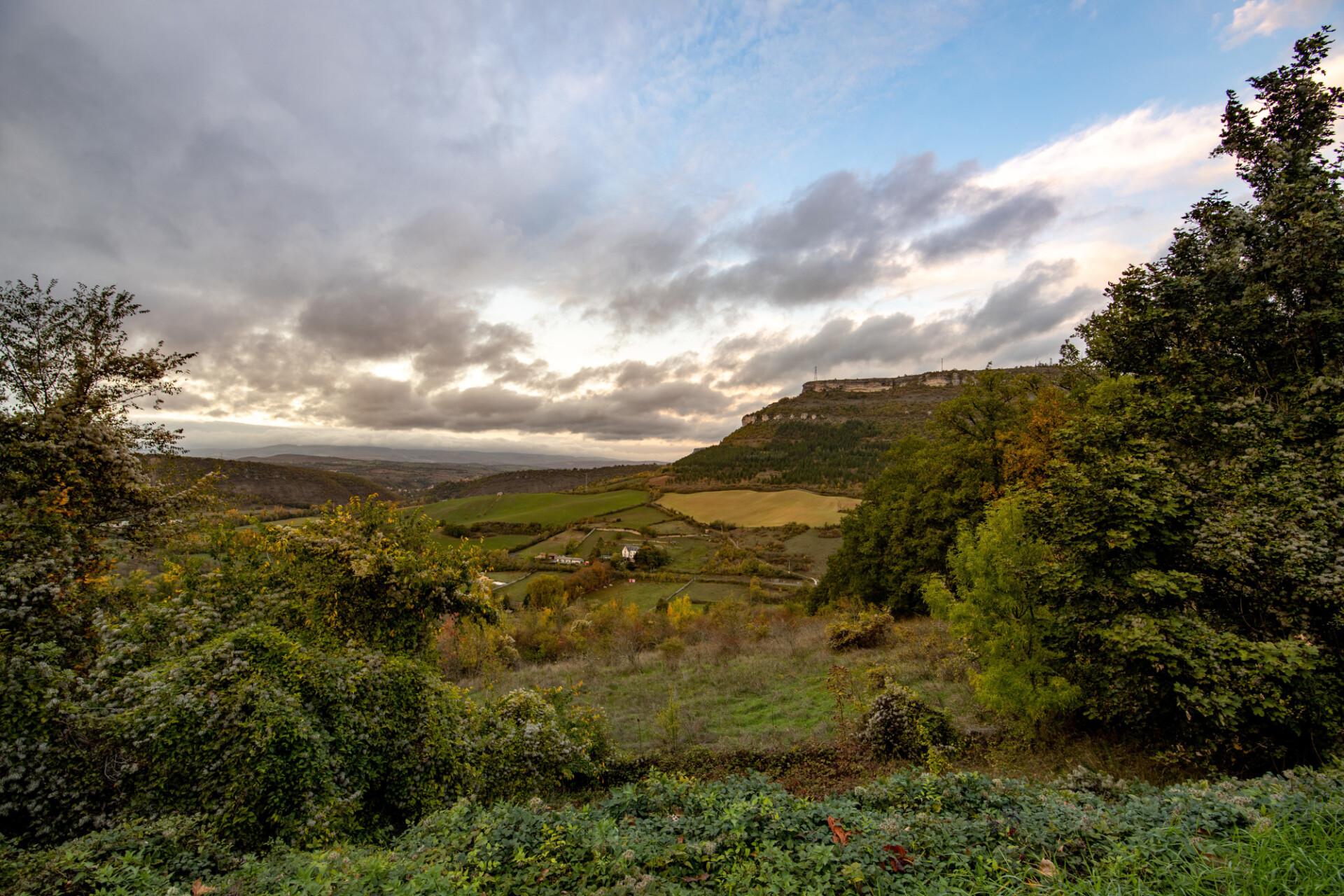 Montgros Chapeauroux Landscape in France