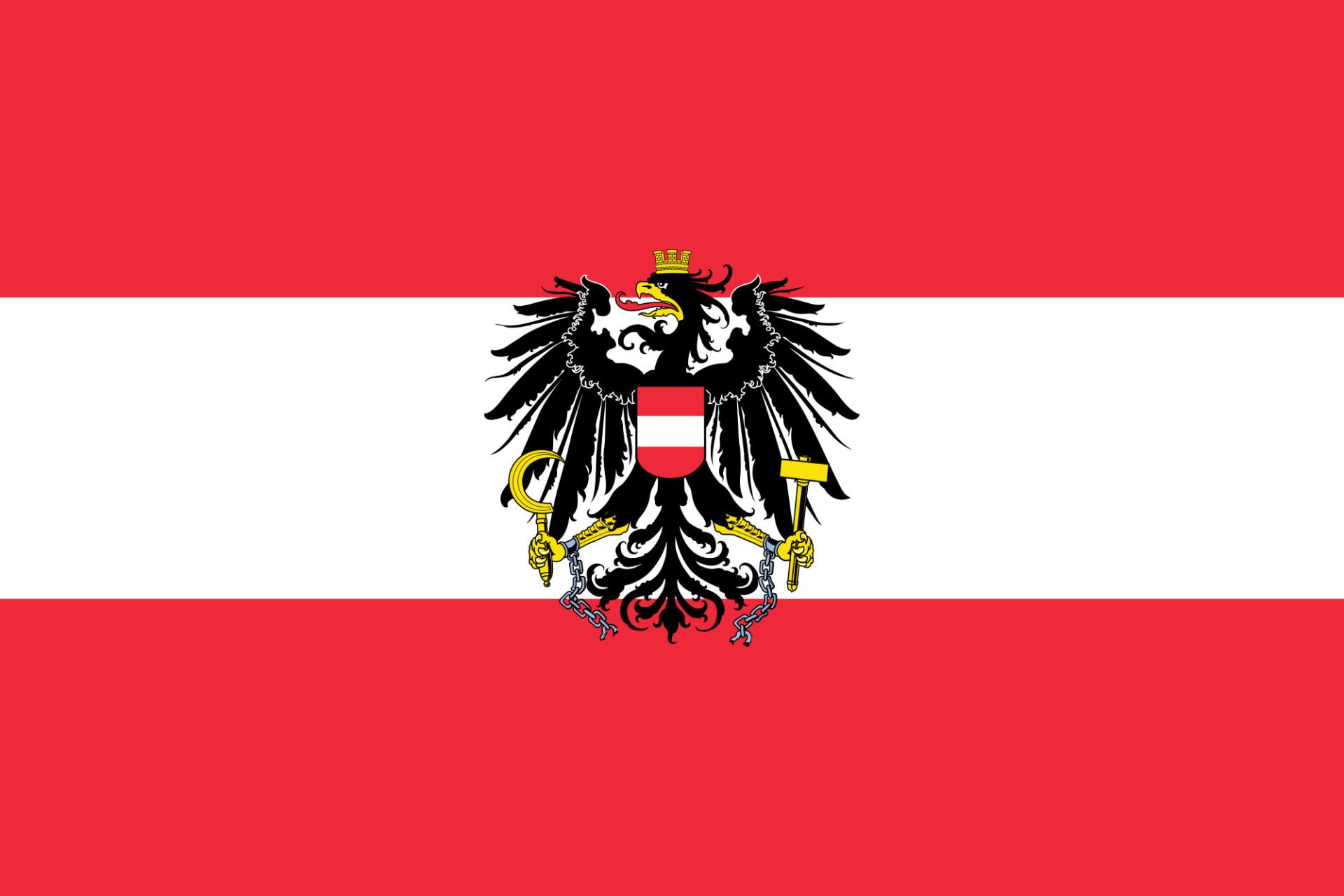 austria flag high res