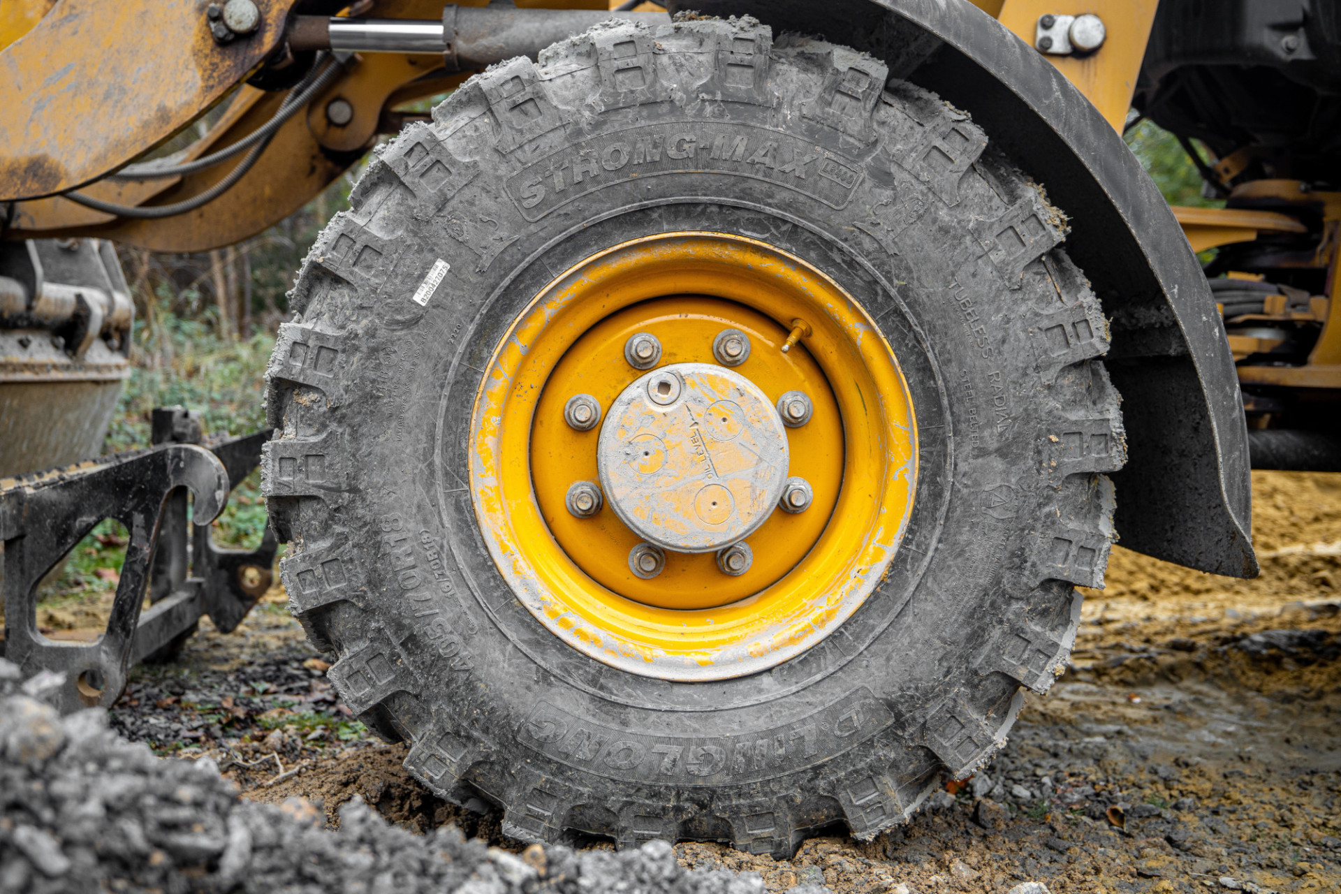 Excavator tires