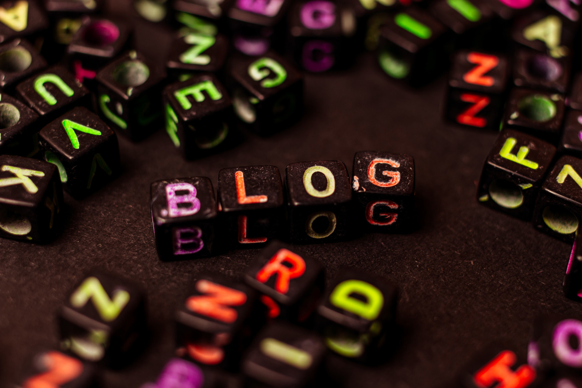 Blog word representation
