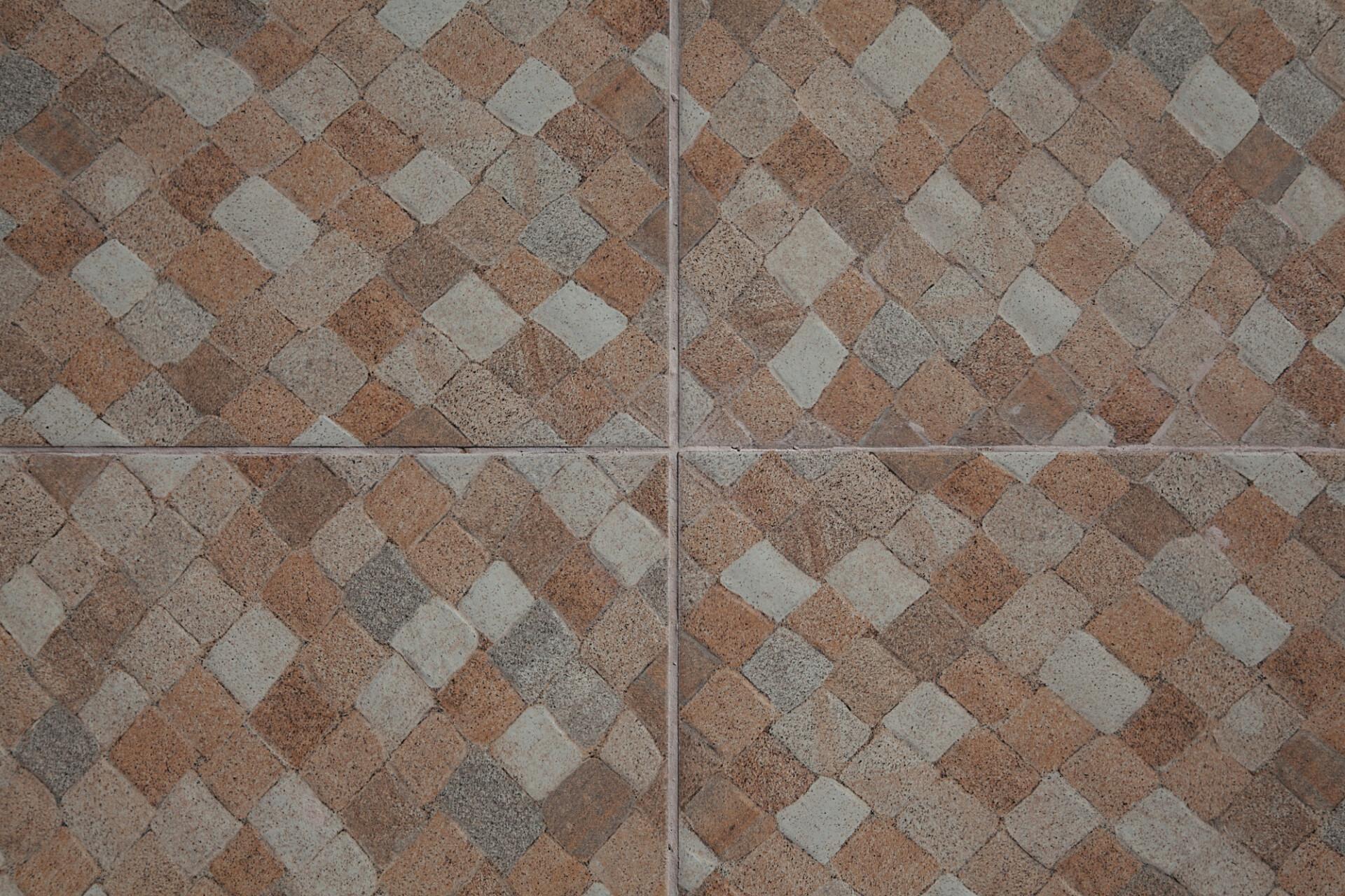 checkered stone tiles texture