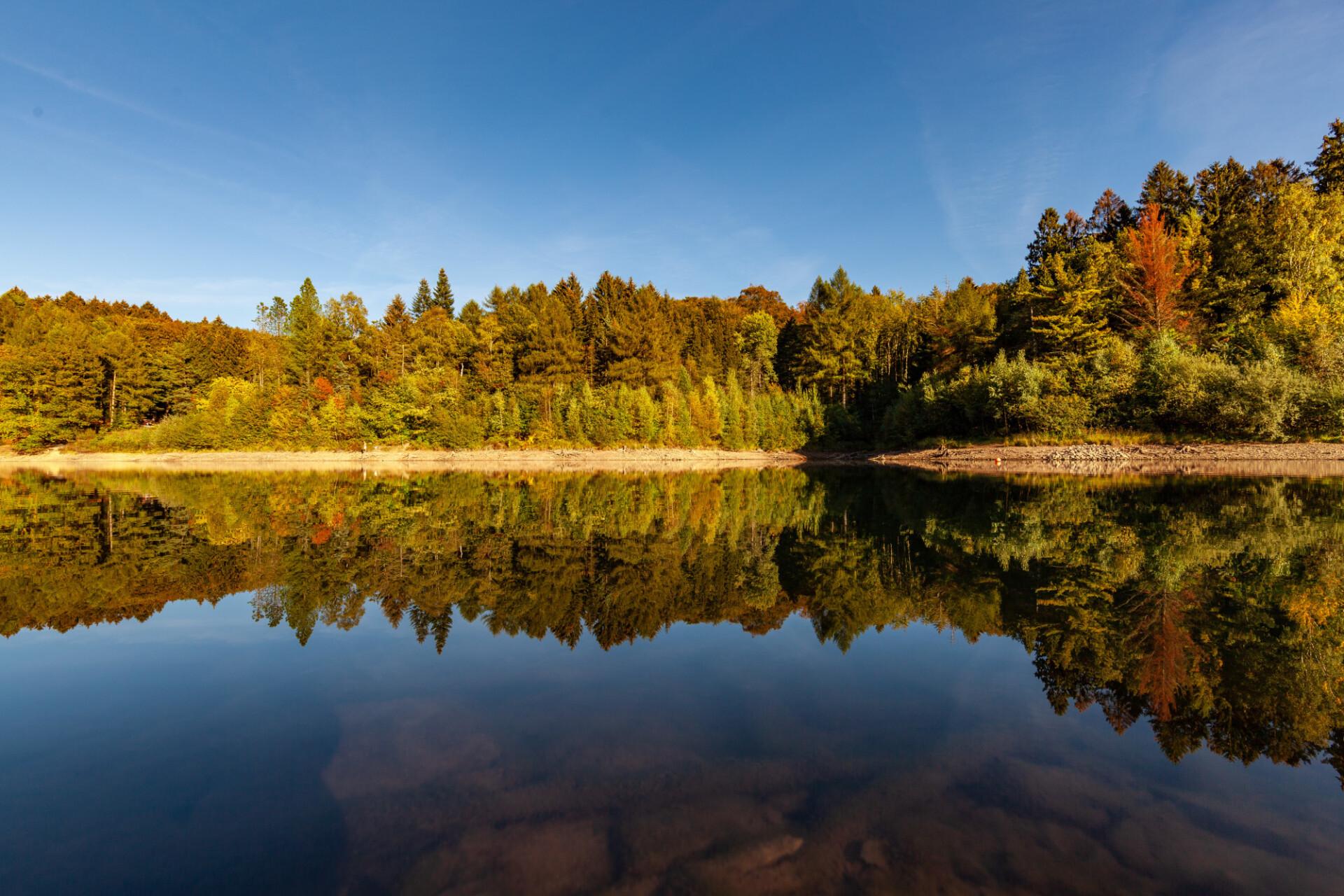 beautiful german lake