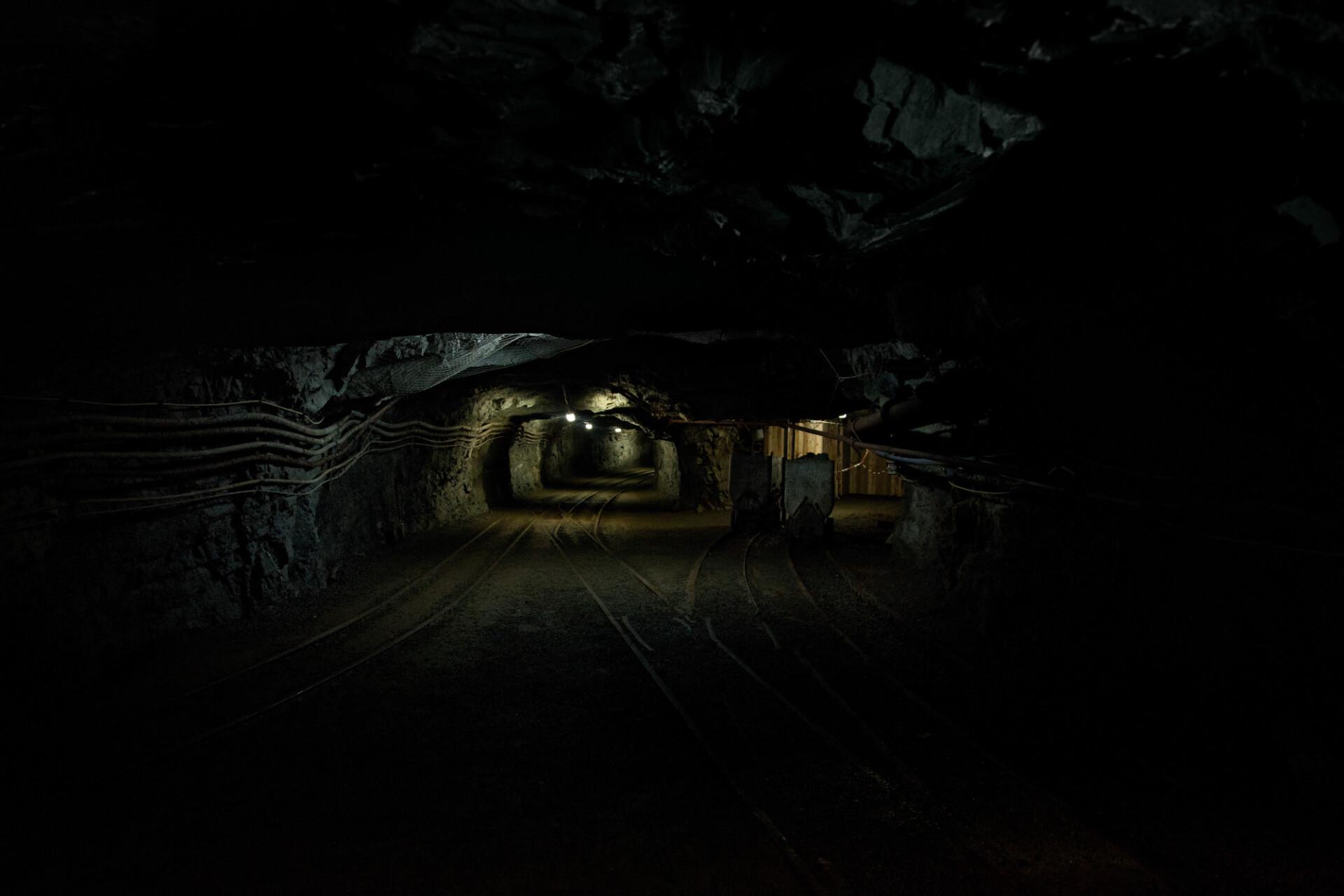 old dark mine
