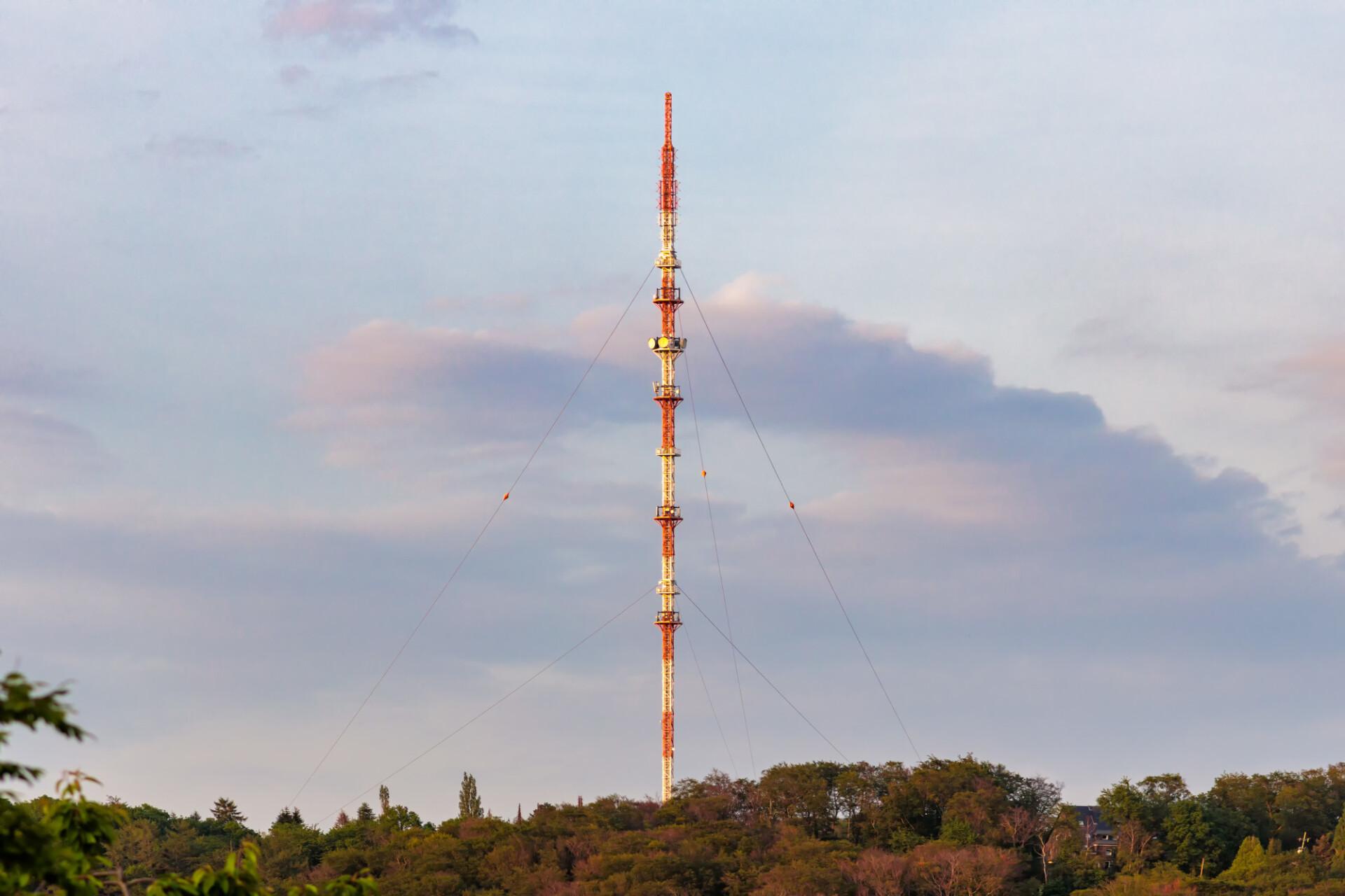 Transmission mast in Langenberg