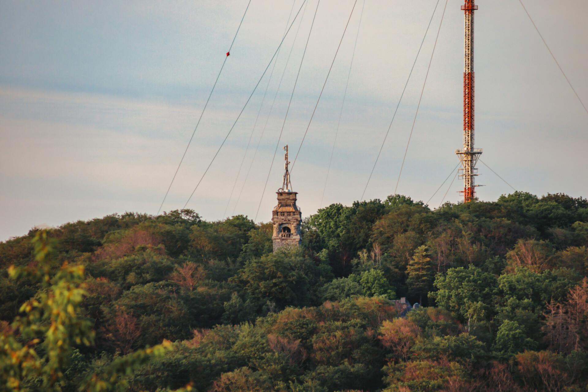 Bismarck tower in velbert langenberg