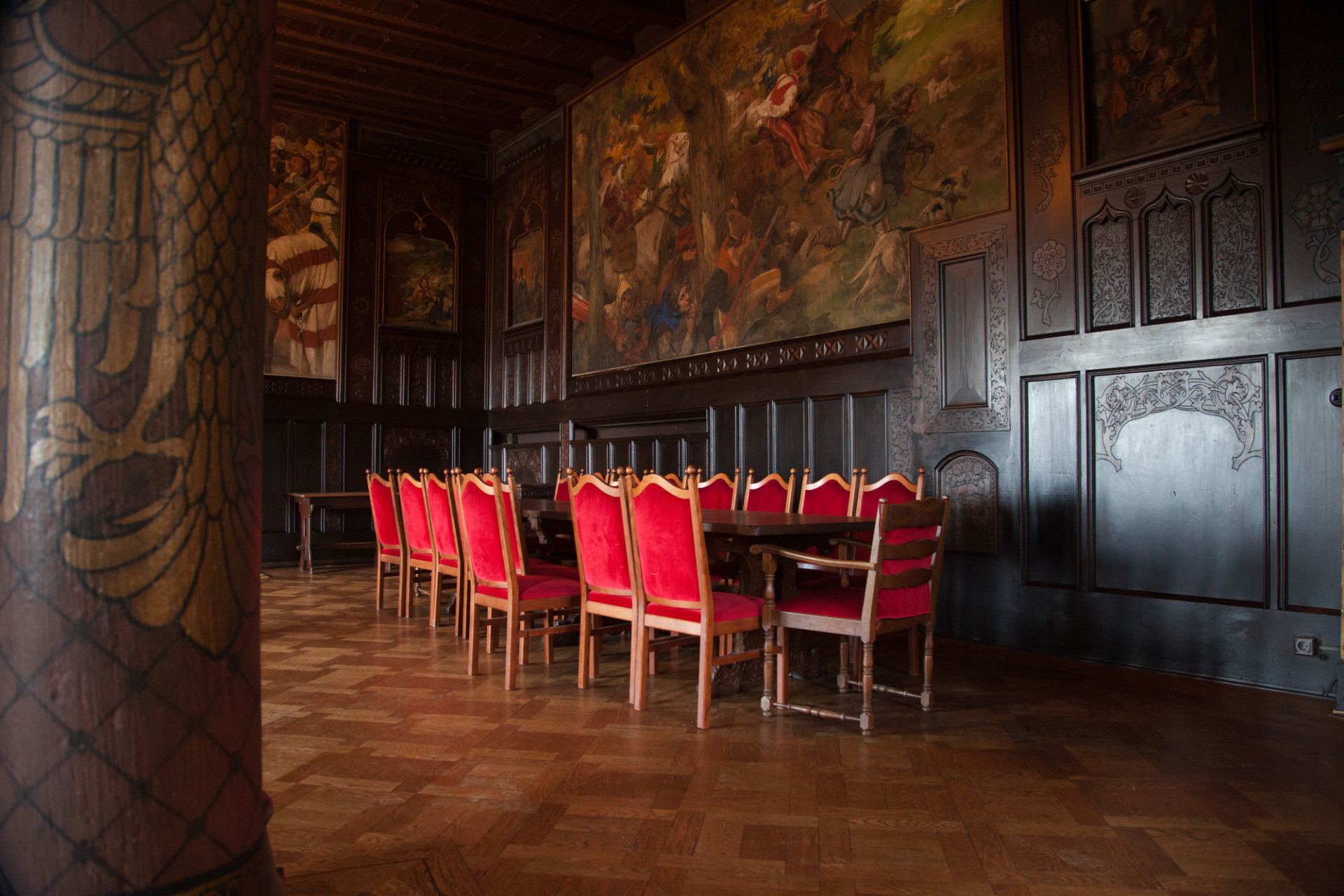 medieval dining room