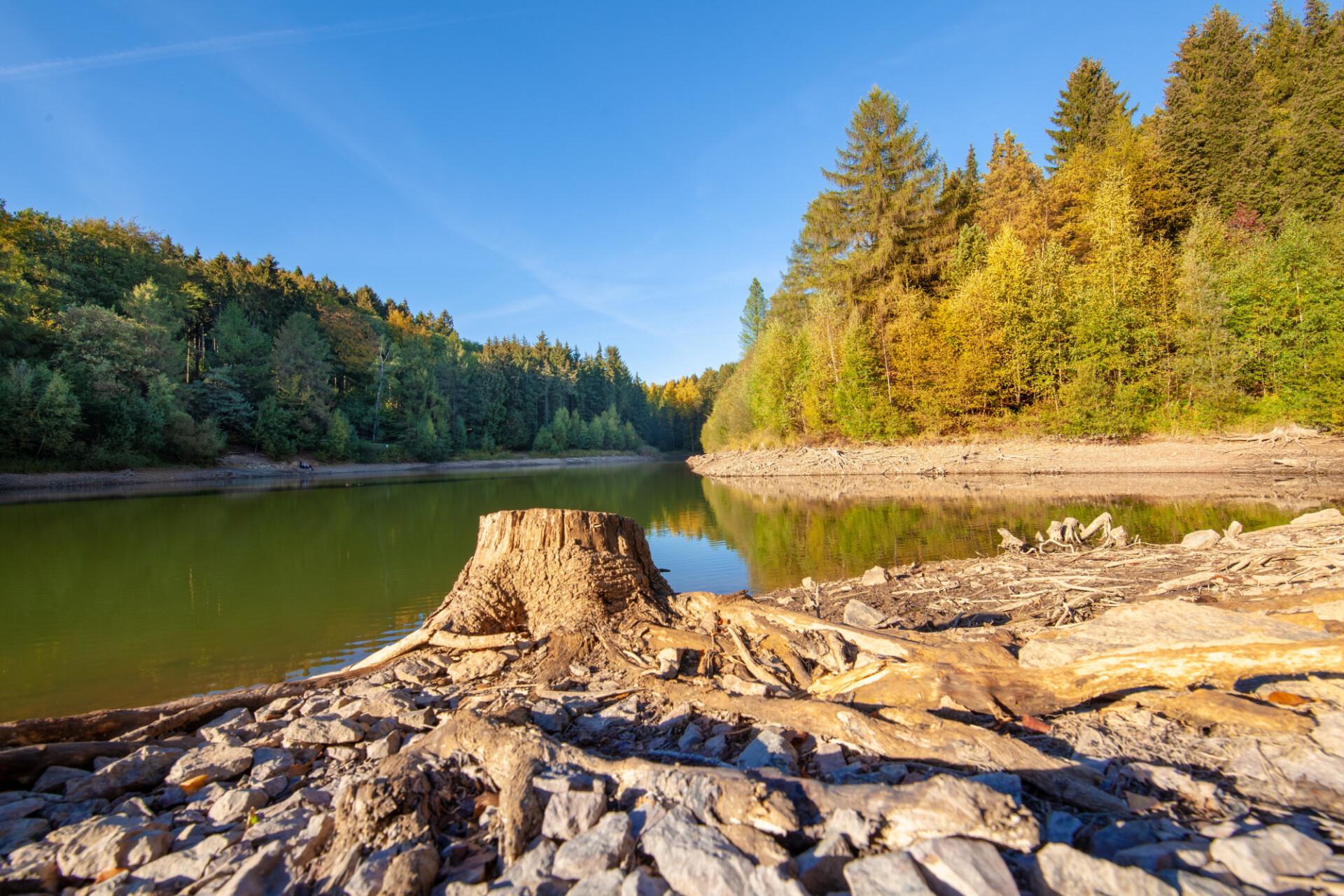 Reservoir in Germany