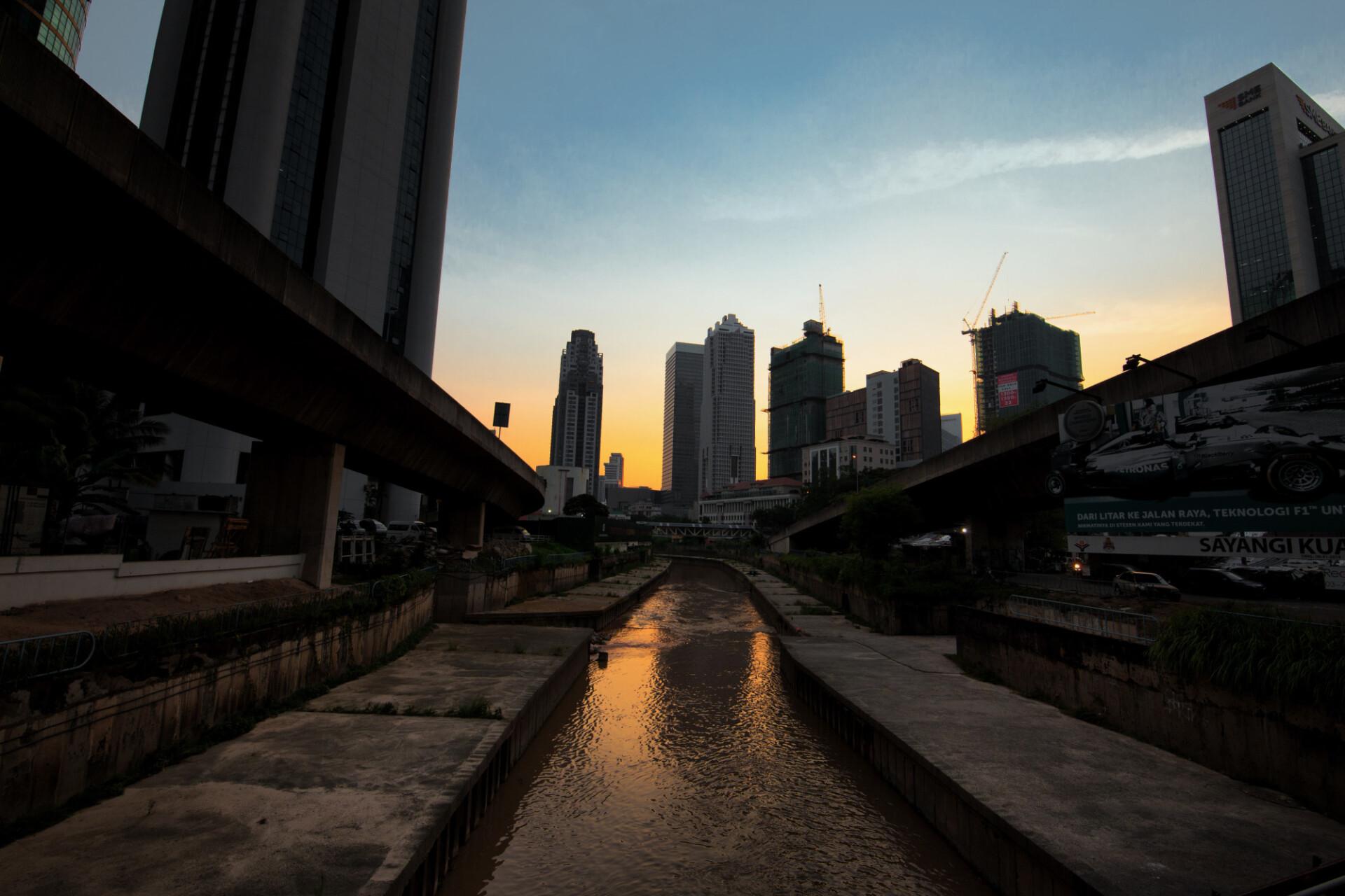 Canal in Shanghai
