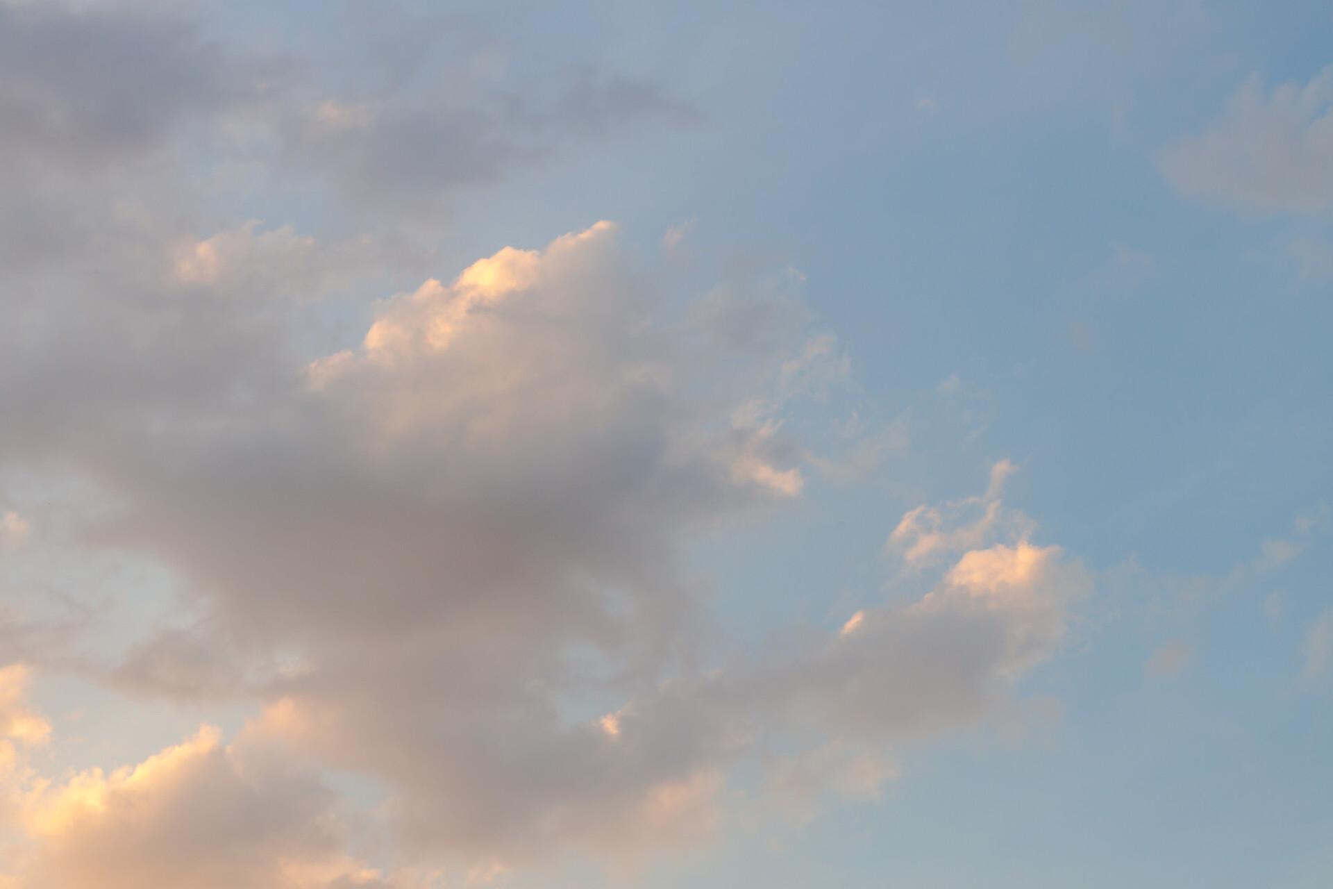 Beautiful cloudy sky high resolution