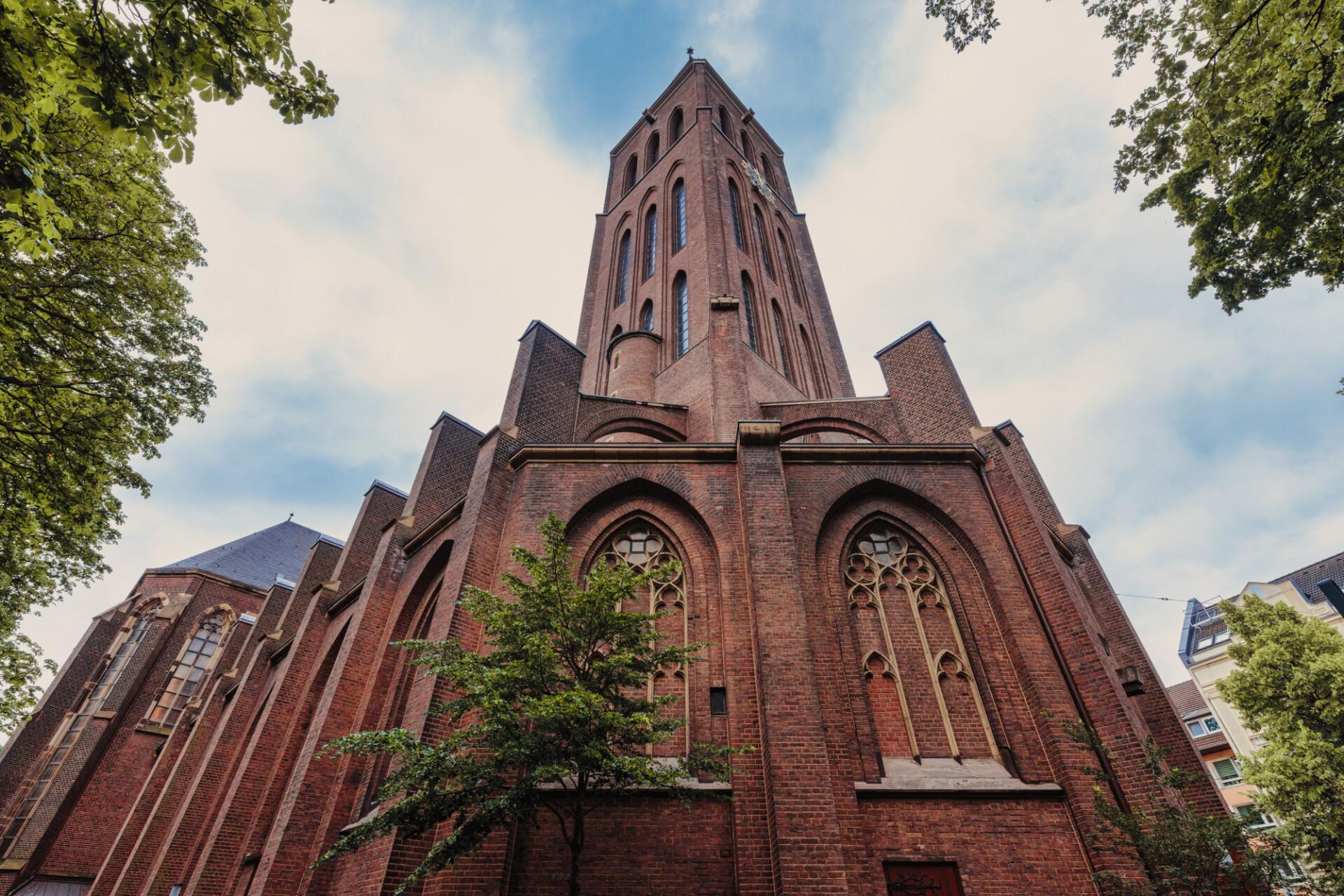 Martinskirche in Düsseldorf Bilk