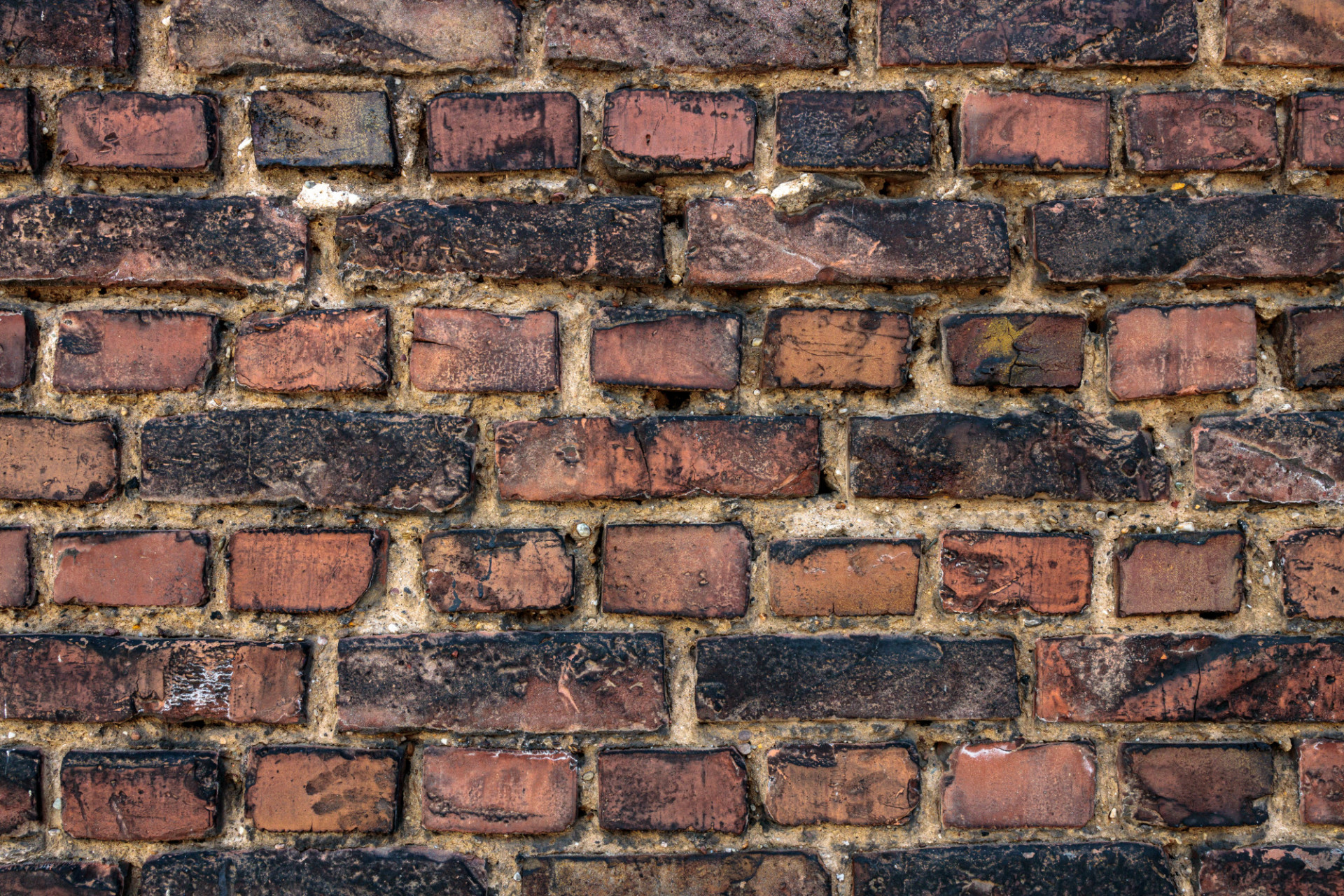 wide zoomed red old brick wall texture