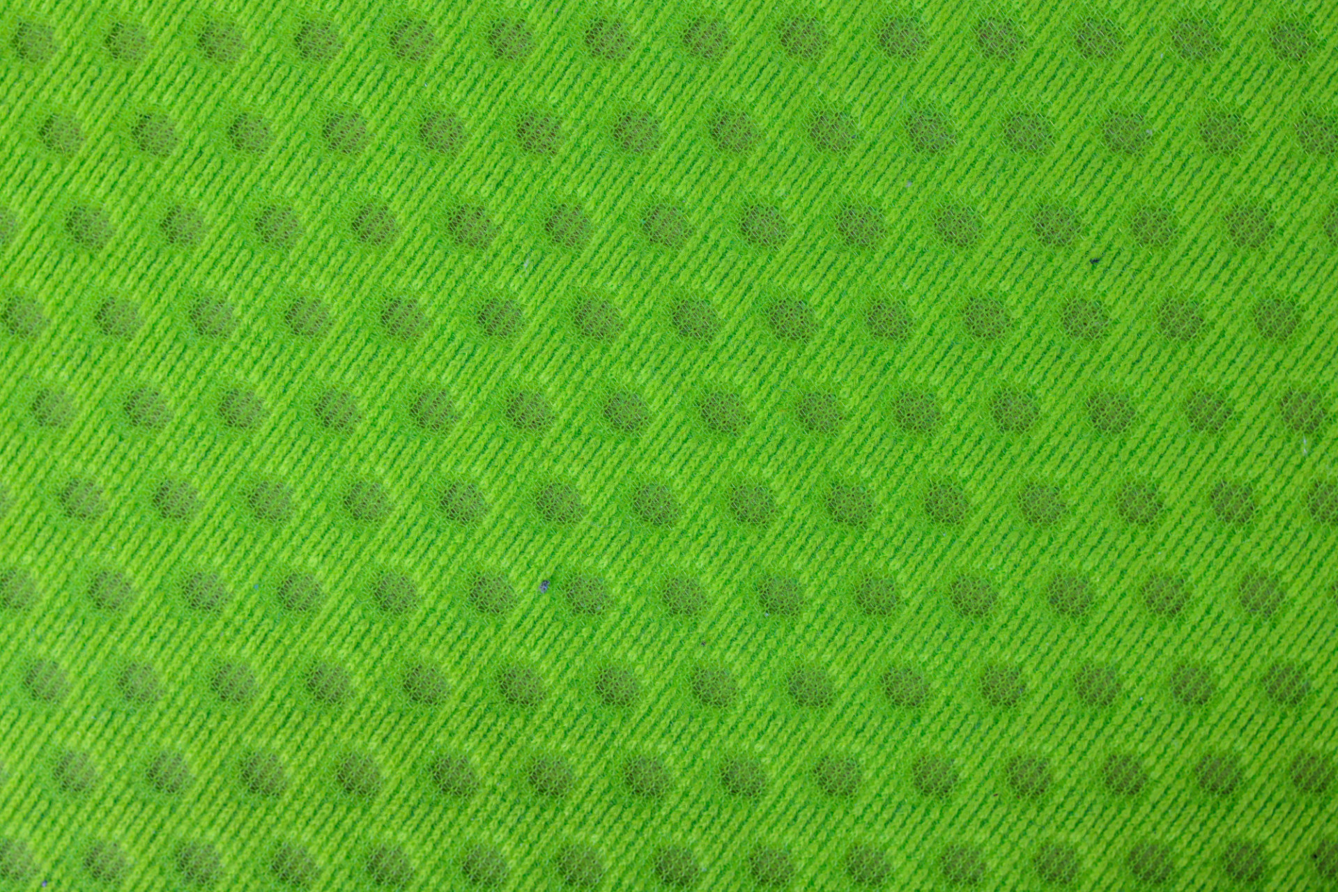 Green dotted fabric texture