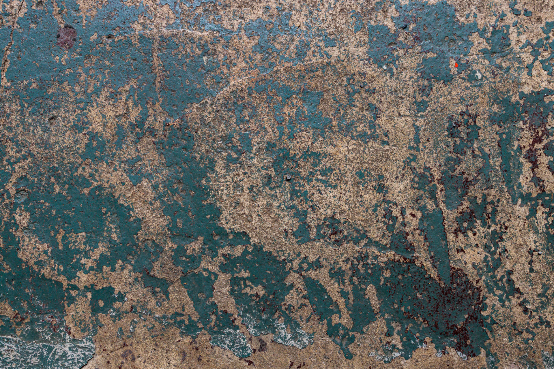 Grunge blue concrete floor texture