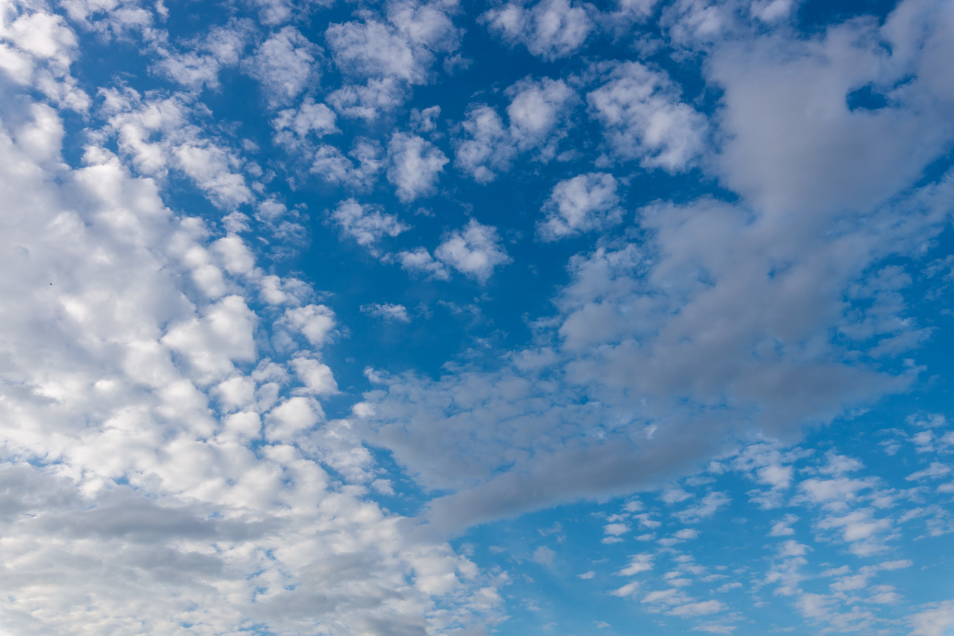 Beautiful light blue Sky with clouds for Sky Replacement