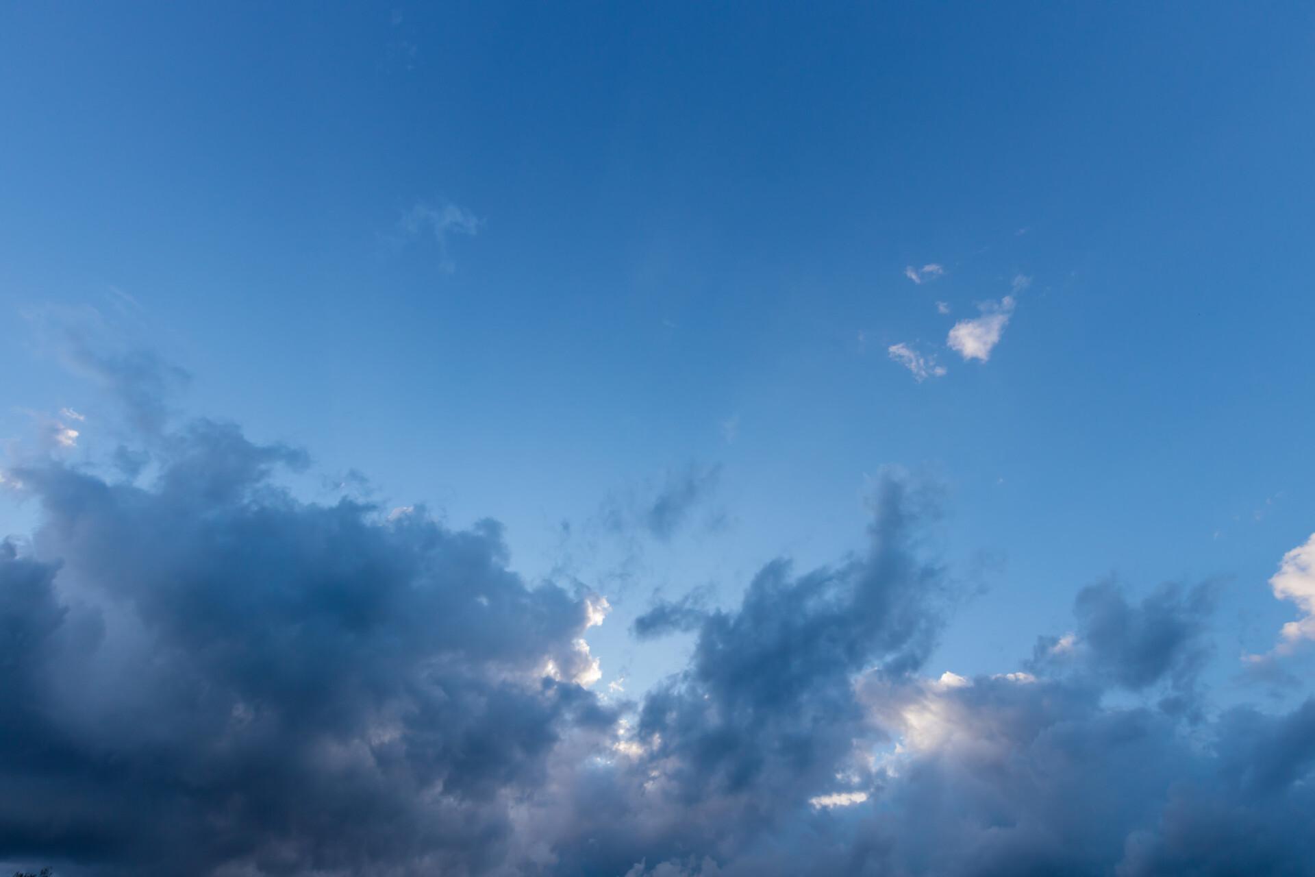 Rain clouds gather