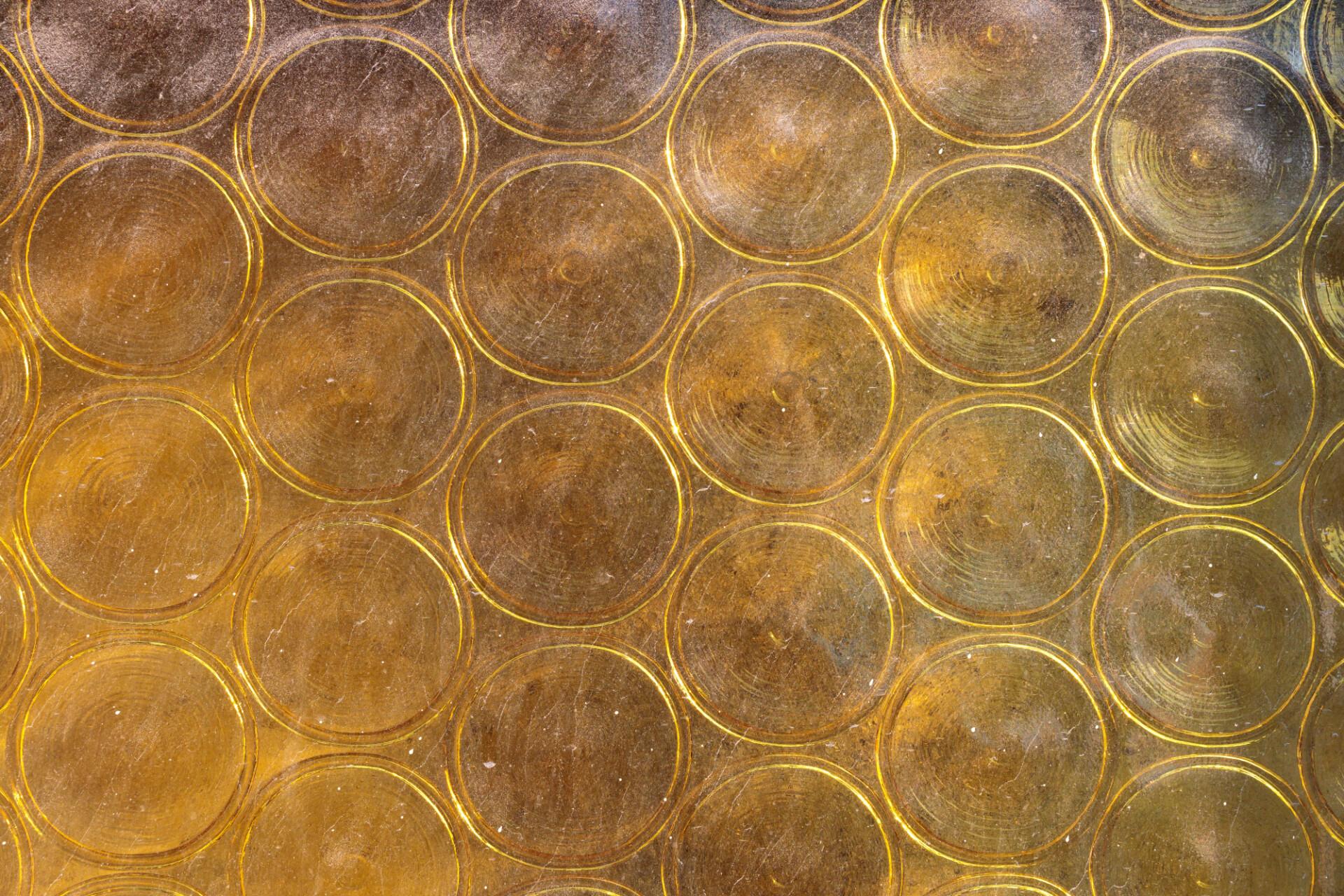 Yellow glass window texture