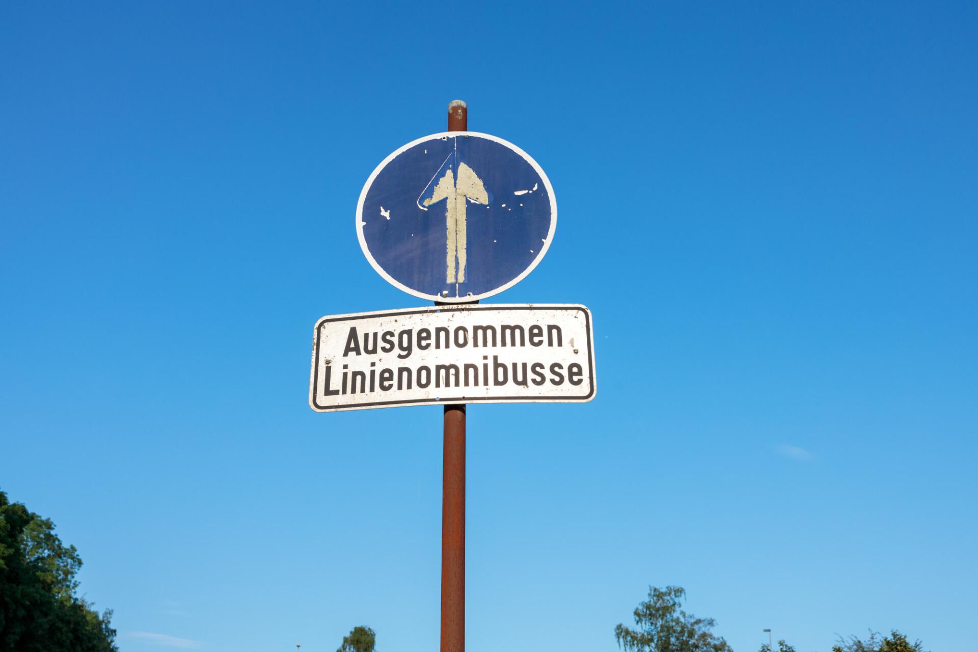 Up arrow street sign
