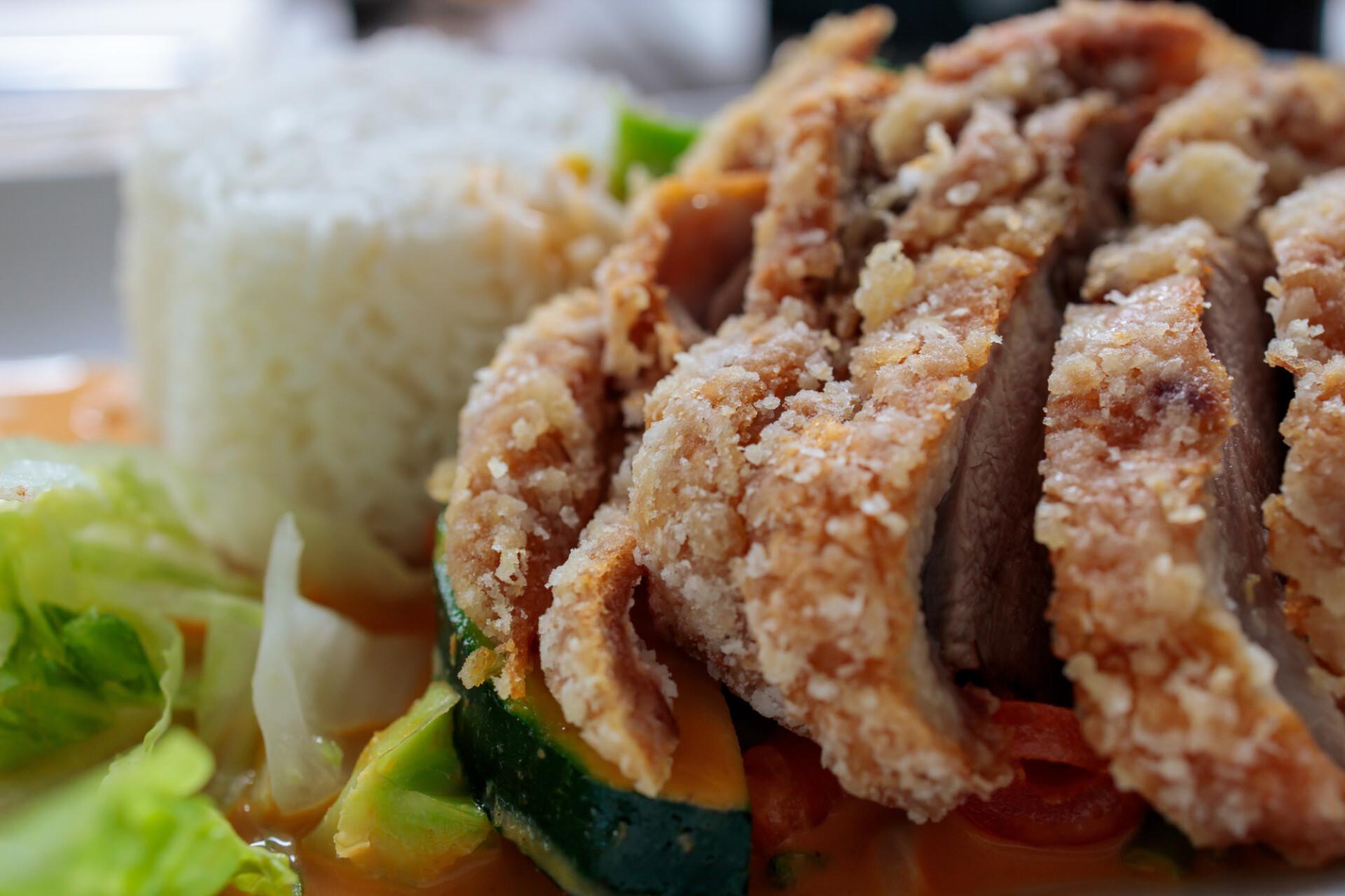 Asian Crispy Duck Lunch